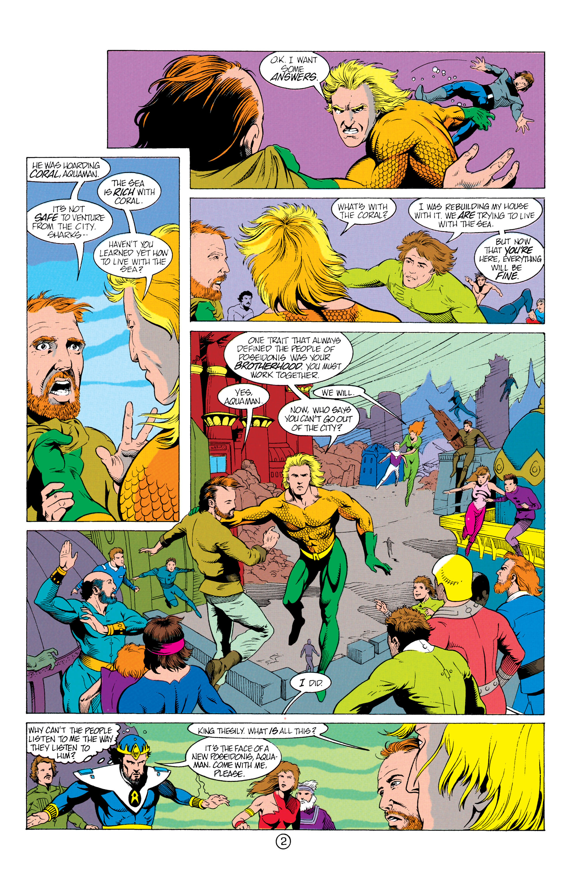 Read online Aquaman (1991) comic -  Issue #12 - 3
