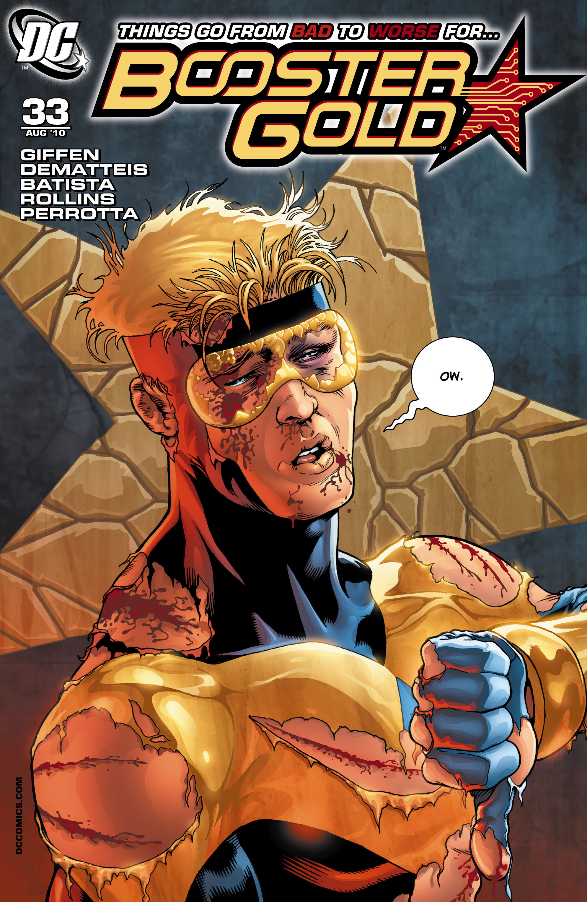 Booster Gold 2007 Issue 33