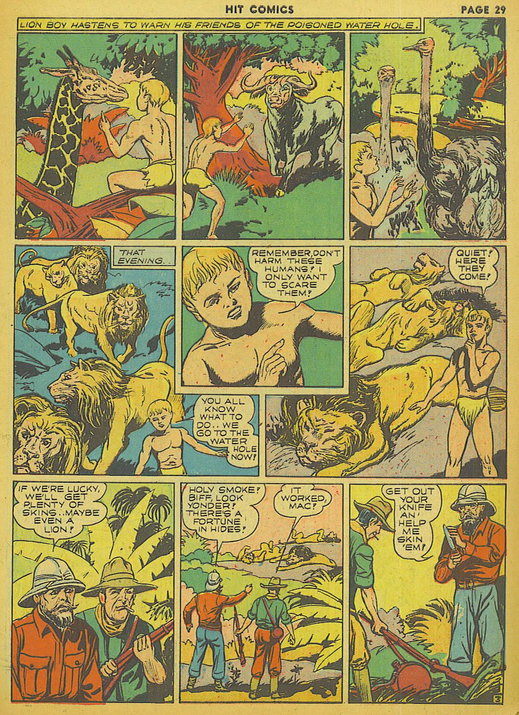Read online Hit Comics comic -  Issue #13 - 31