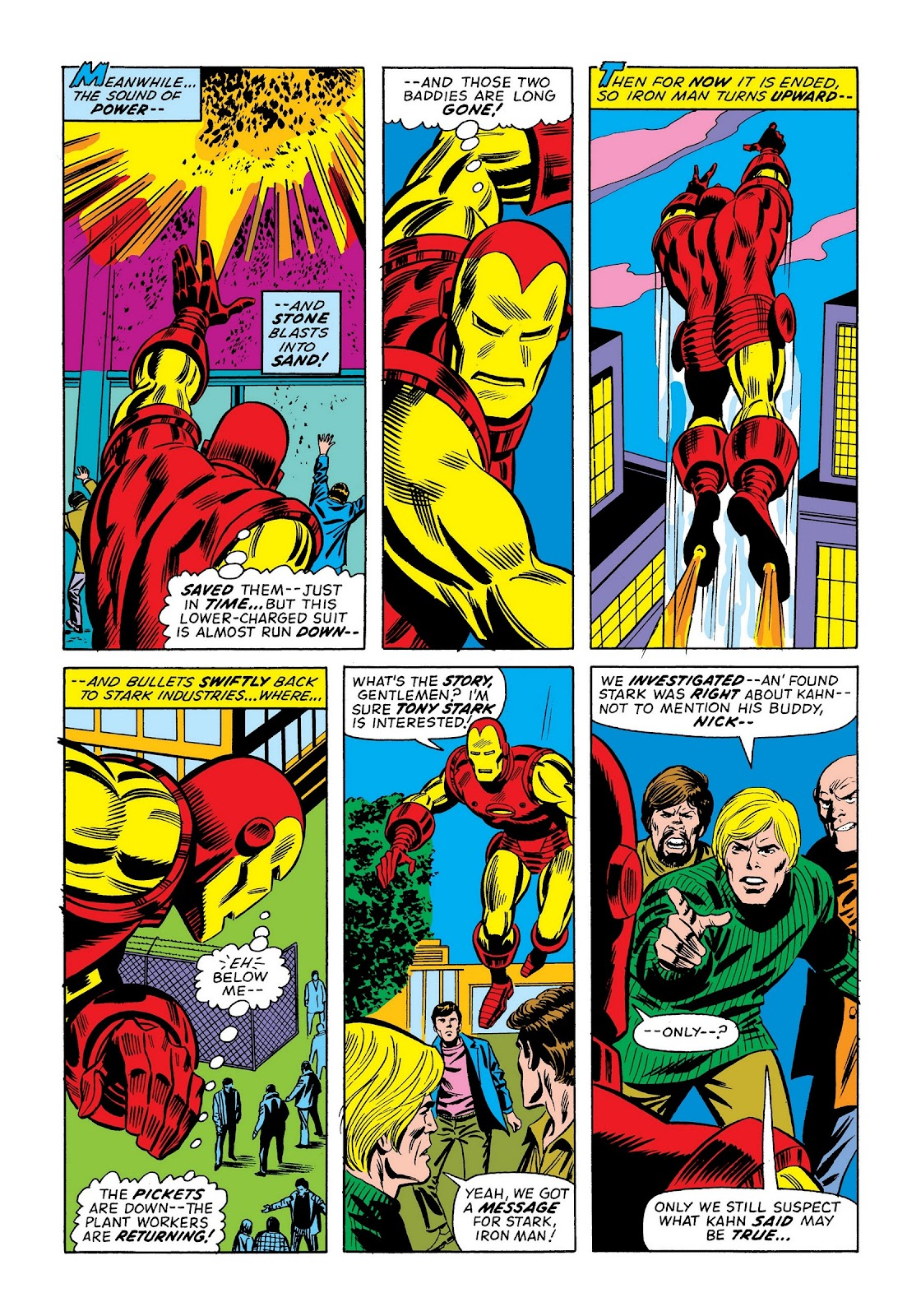 Read online Marvel Masterworks: The Invincible Iron Man comic -  Issue # TPB 9 (Part 2) - 10