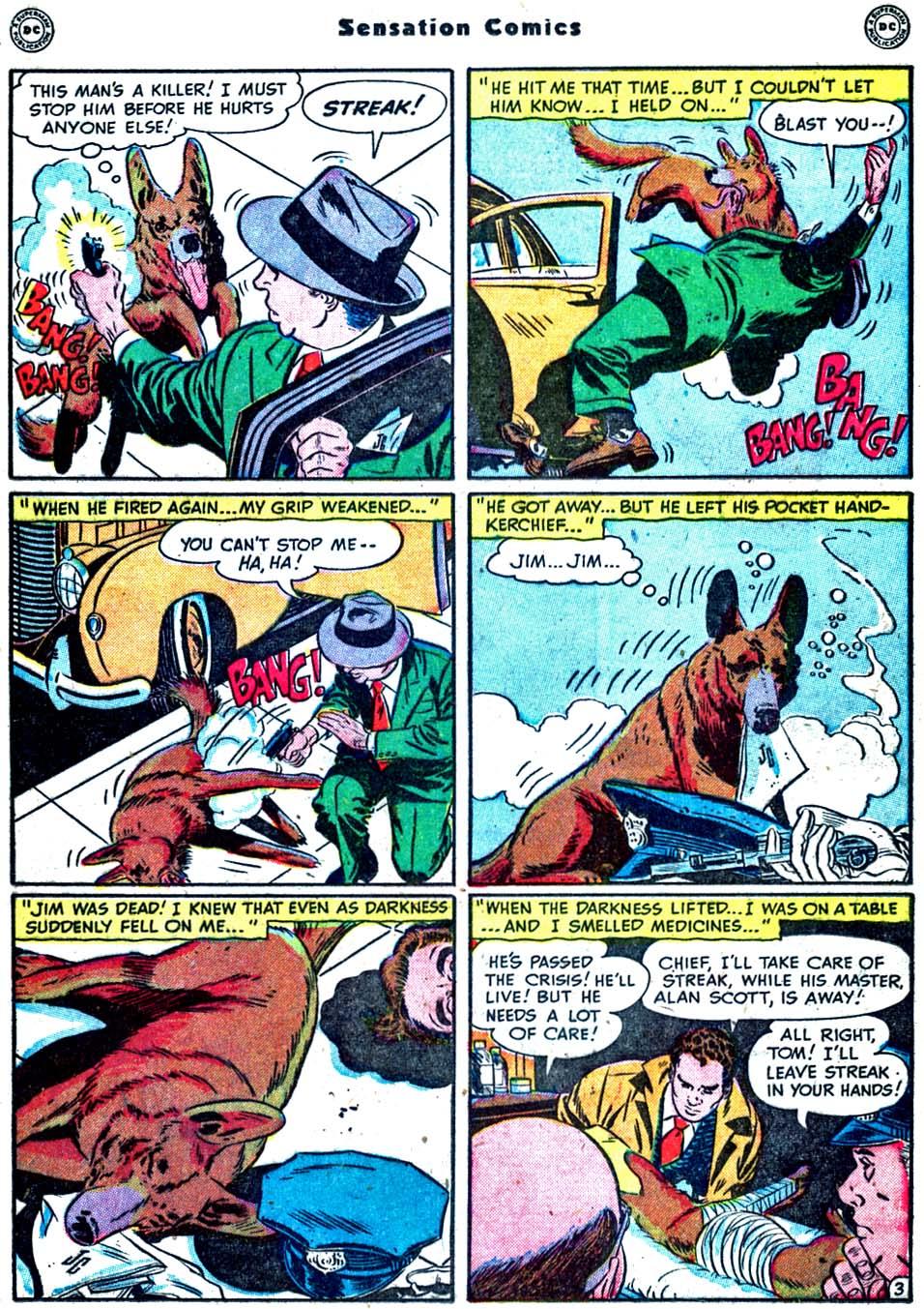 Read online Sensation (Mystery) Comics comic -  Issue #91 - 19