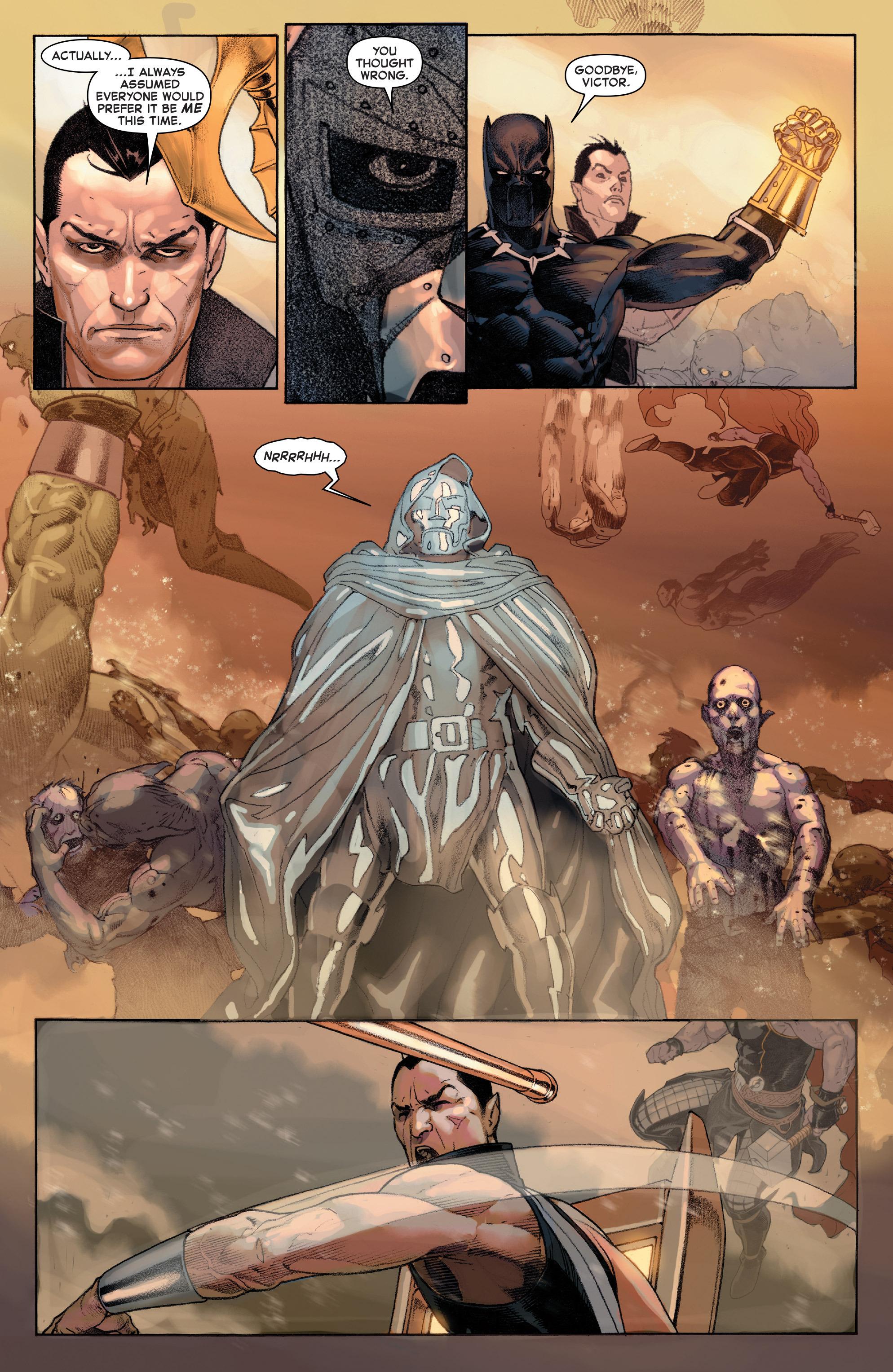 Read online Secret Wars comic -  Issue #9 - 3