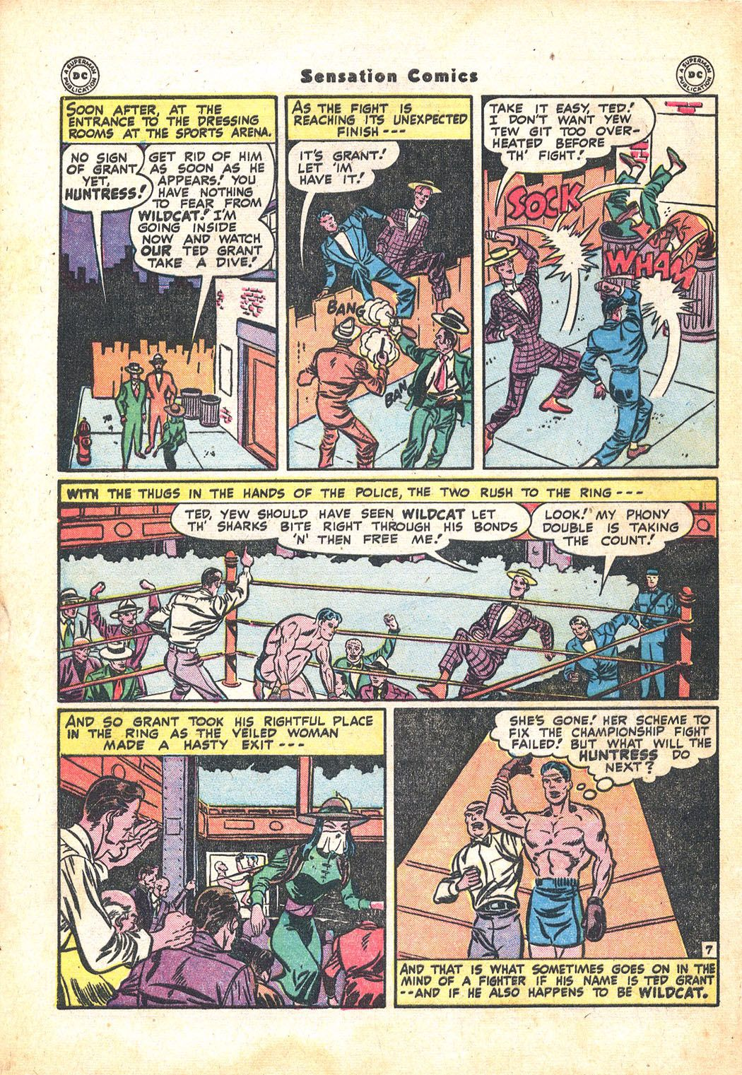 Read online Sensation (Mystery) Comics comic -  Issue #71 - 48