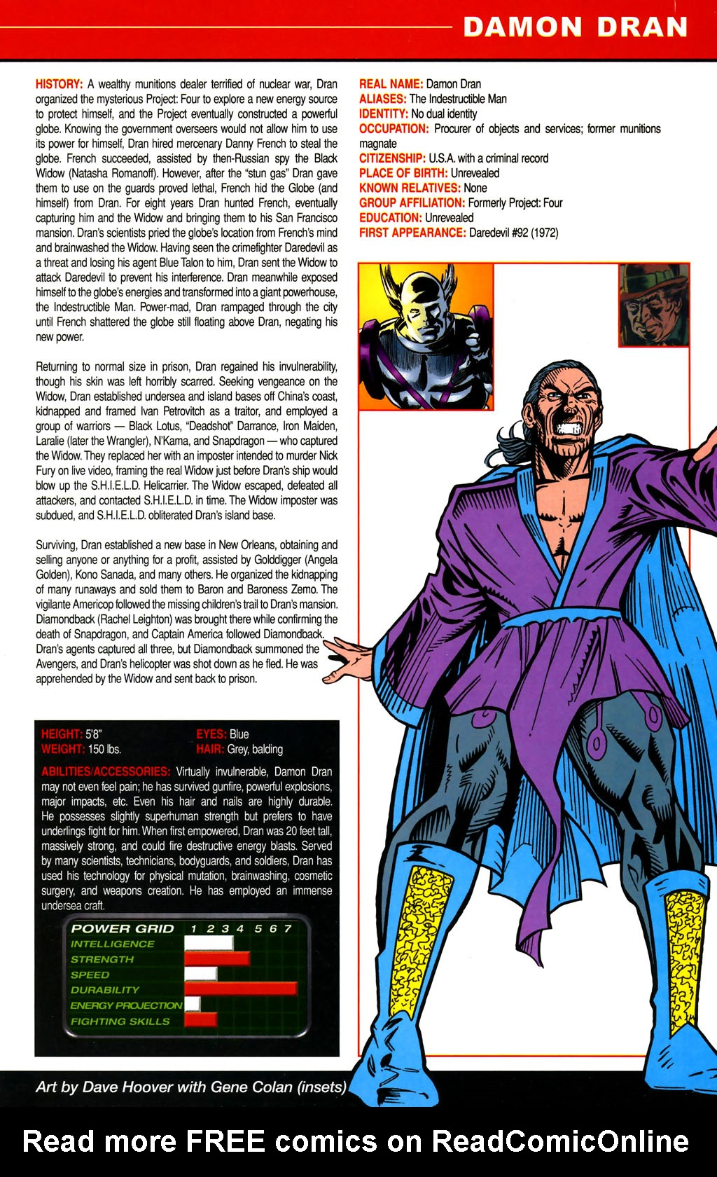 Read online All-New Official Handbook of the Marvel Universe A to Z comic -  Issue #4 - 3