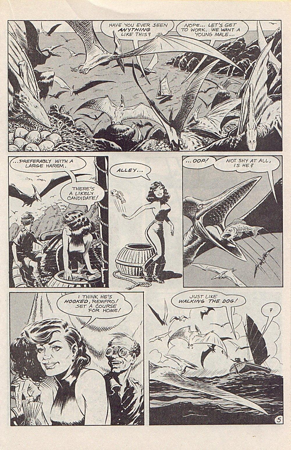 Read online Xenozoic Tales comic -  Issue #1 - 20