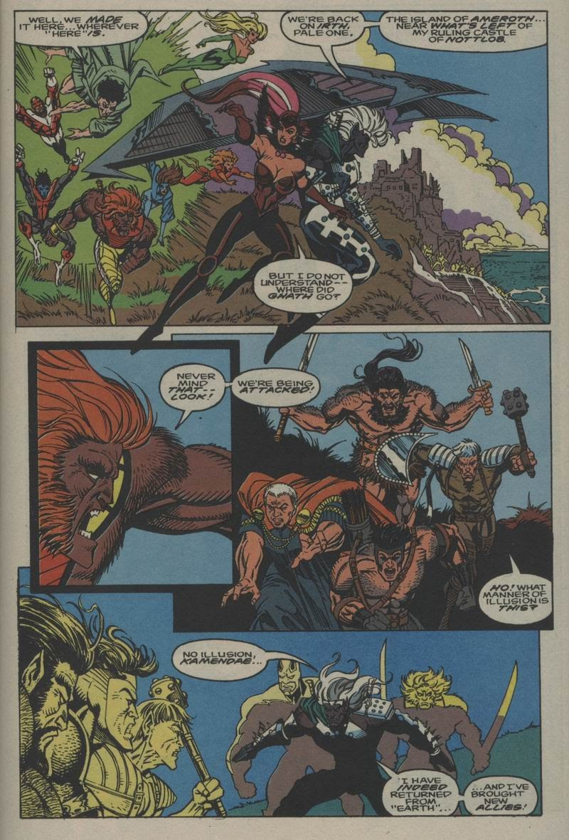 Excalibur (1988) issue Annual 1 - Page 35
