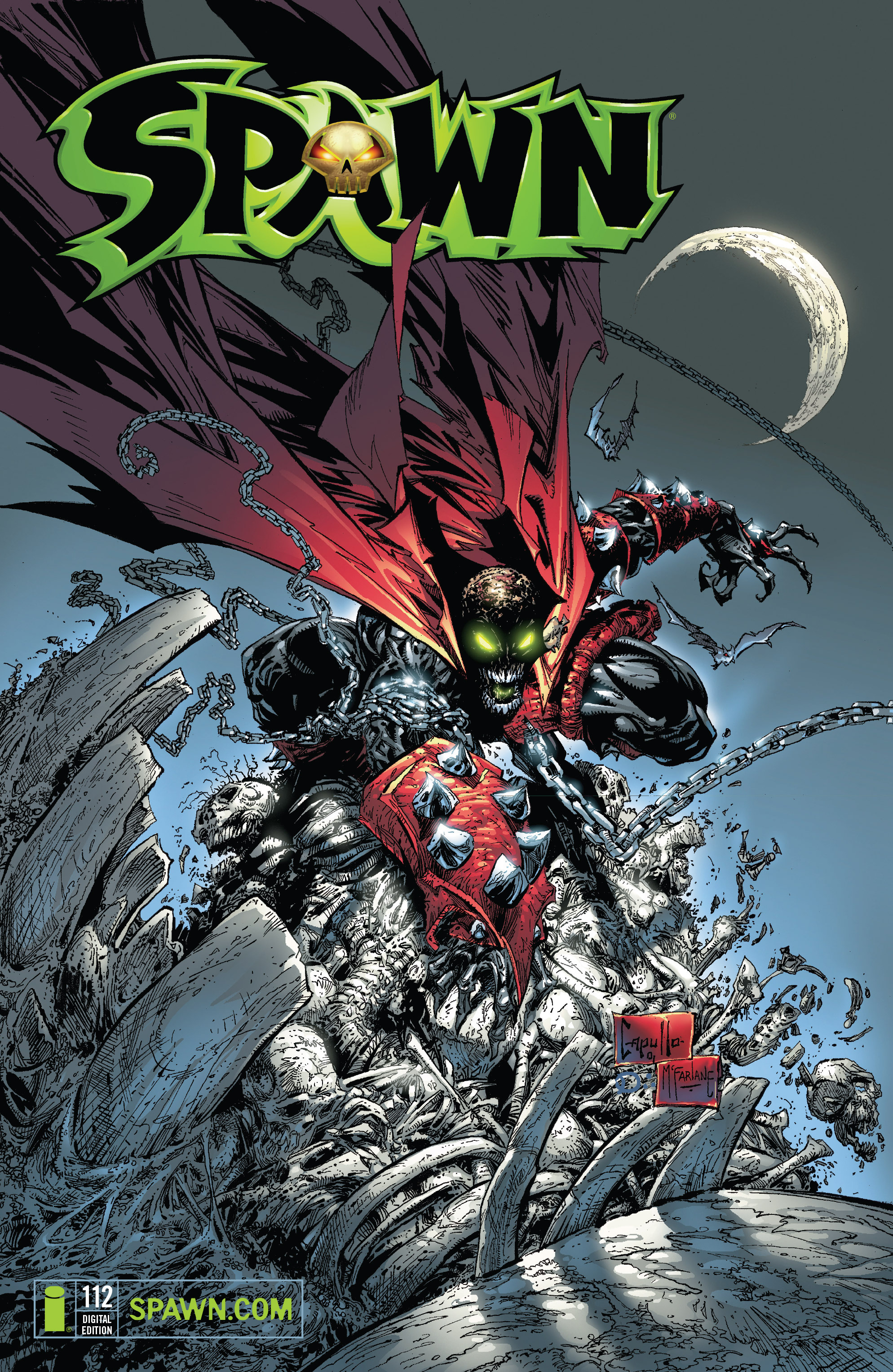 Spawn 112 Page 1