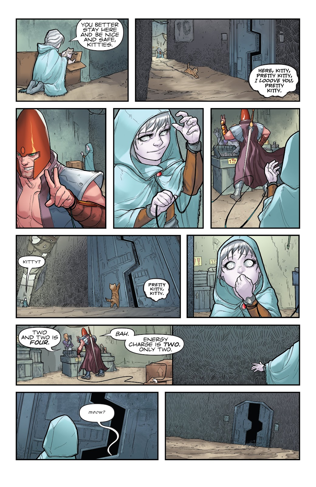 Read online Giantkillers One-Shot comic -  Issue # Full - 39