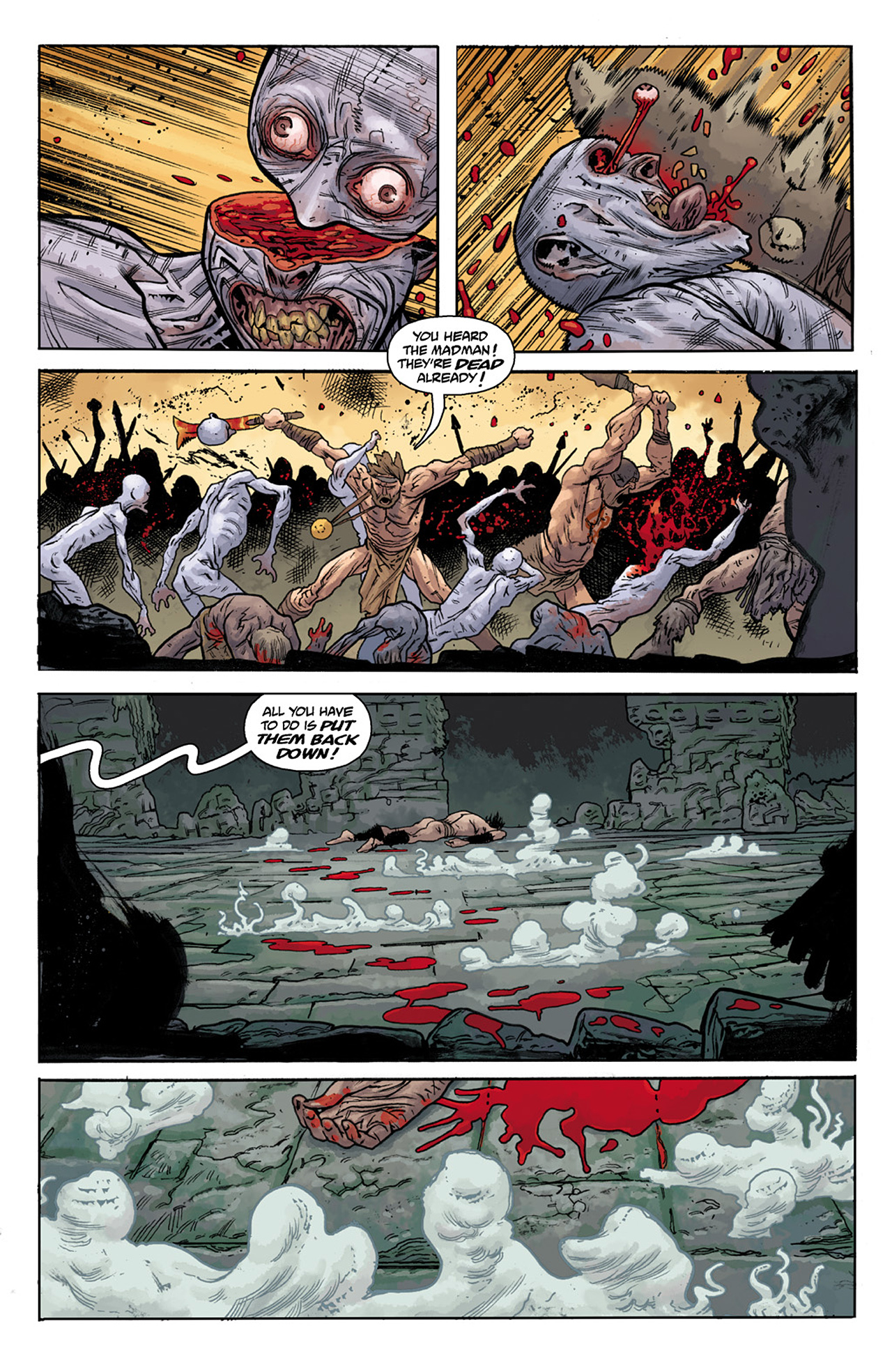 Read online B.P.R.D. Hell on Earth: The Abyss of Time comic -  Issue #104 - 12
