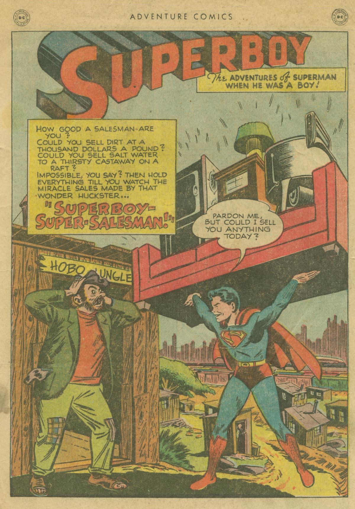 Read online Adventure Comics (1938) comic -  Issue #130 - 2
