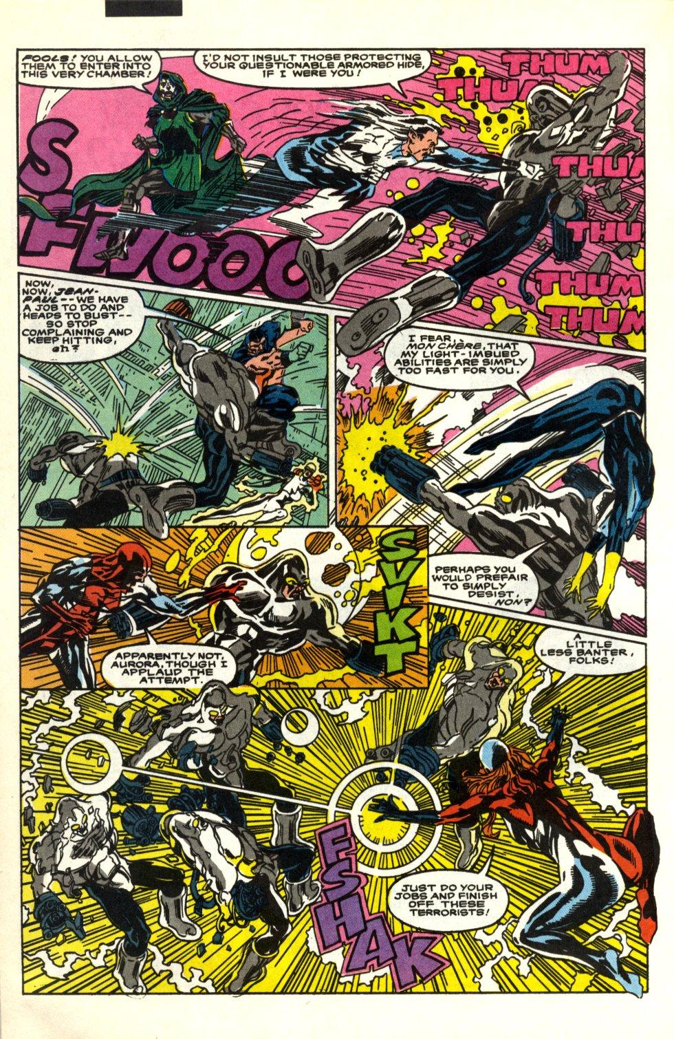 Read online Alpha Flight (1983) comic -  Issue #91 - 17