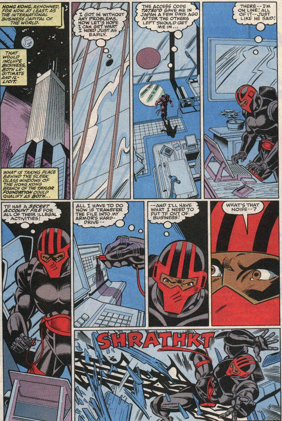 The New Warriors Issue #21 #25 - English 10