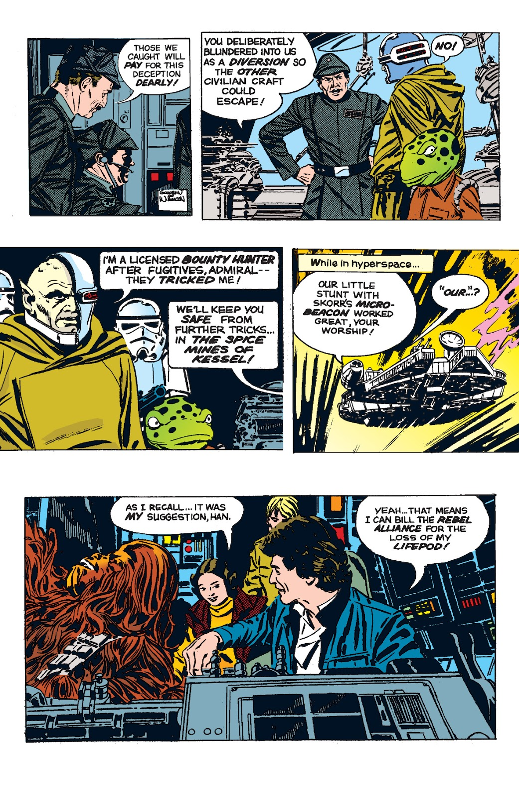 Read online Star Wars Legends: The Newspaper Strips - Epic Collection comic -  Issue # TPB (Part 5) - 23