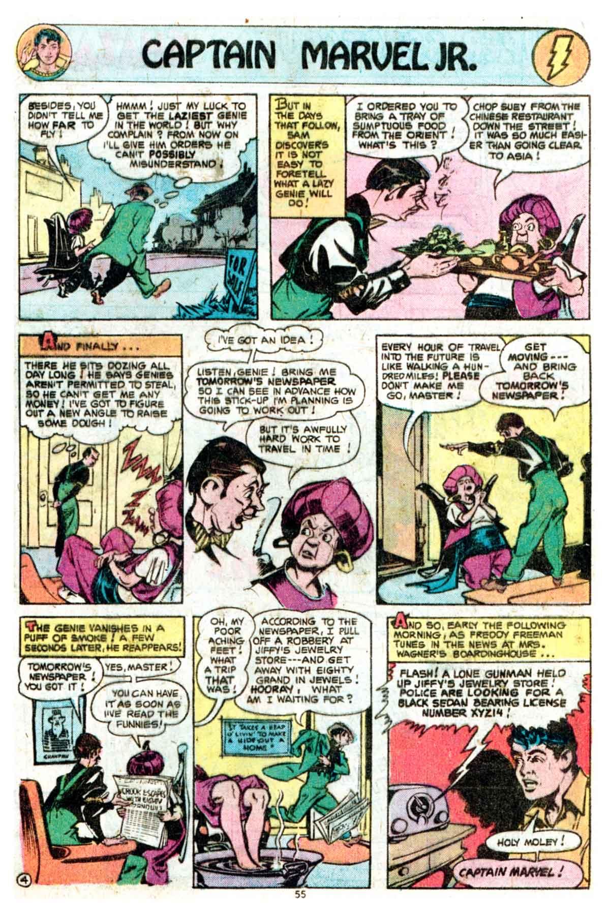 Read online Shazam! (1973) comic -  Issue #16 - 55