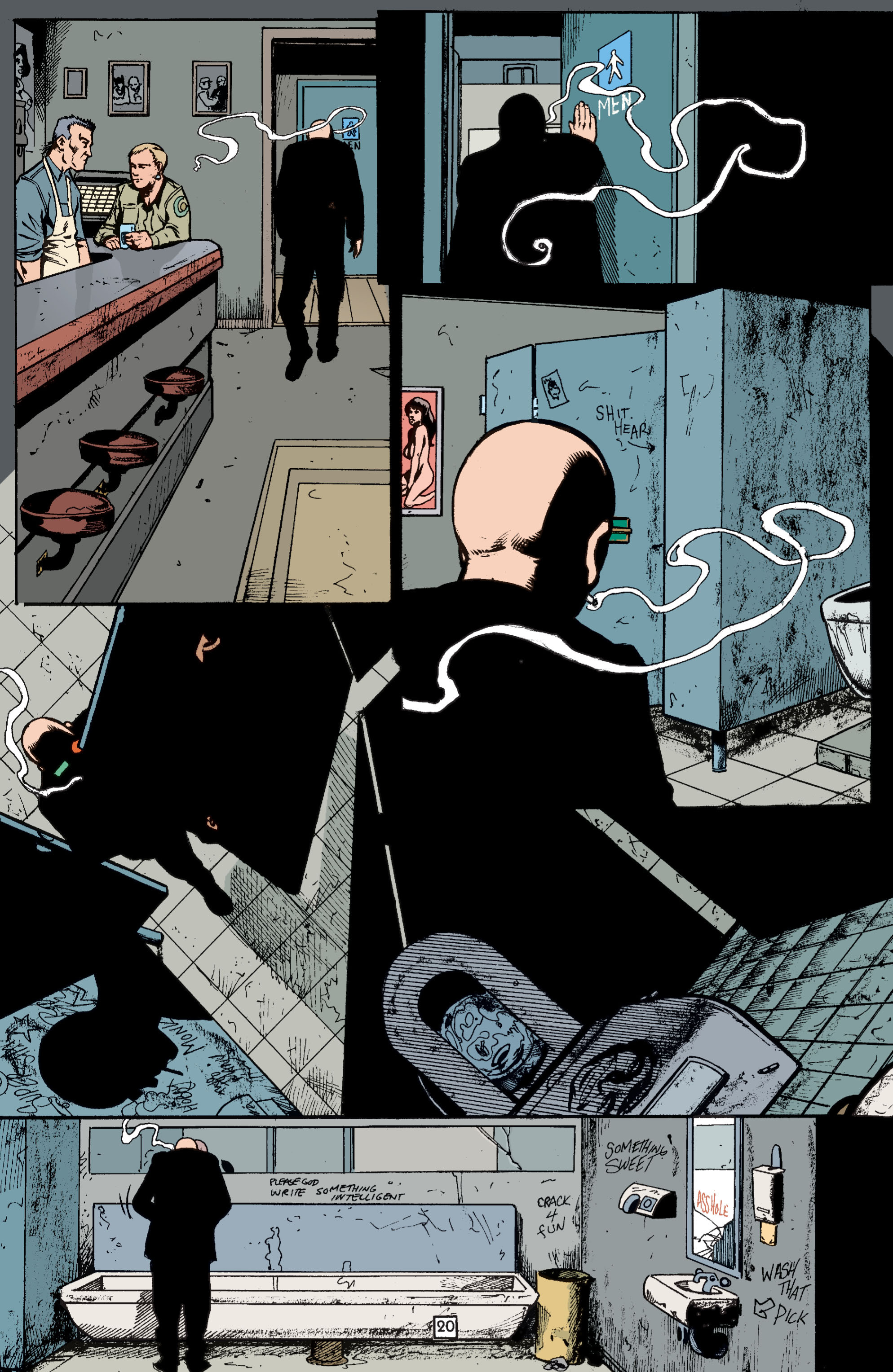 Read online Transmetropolitan comic -  Issue #37 - 21