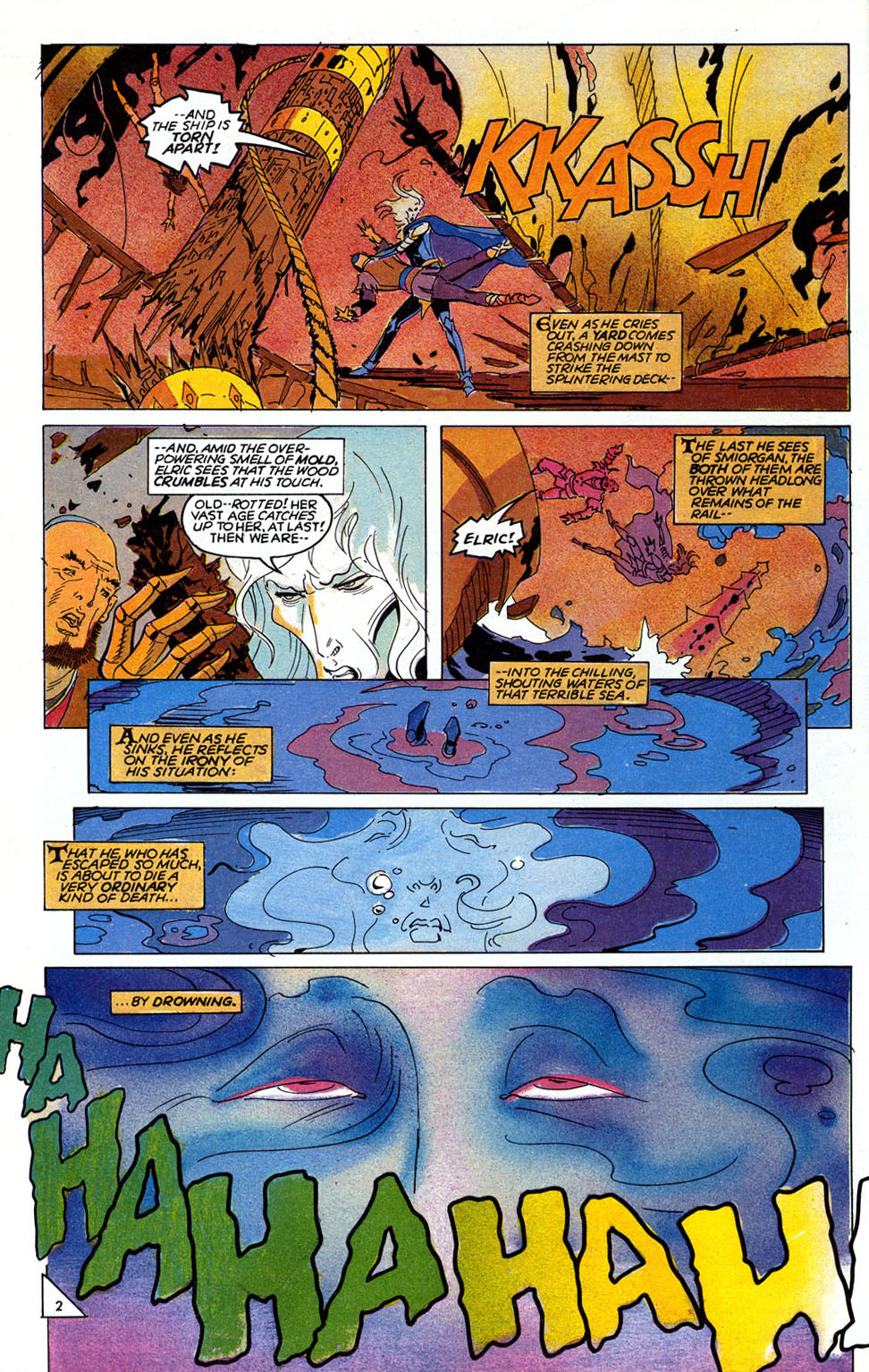 Read online Elric: Sailor on the Seas of Fate comic -  Issue #6 - 4