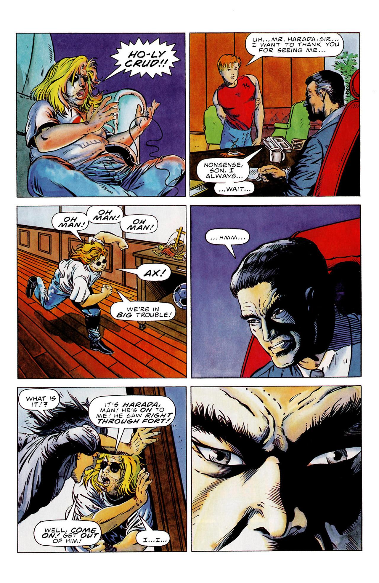 Read online Harbinger (1992) comic -  Issue #15 - 16