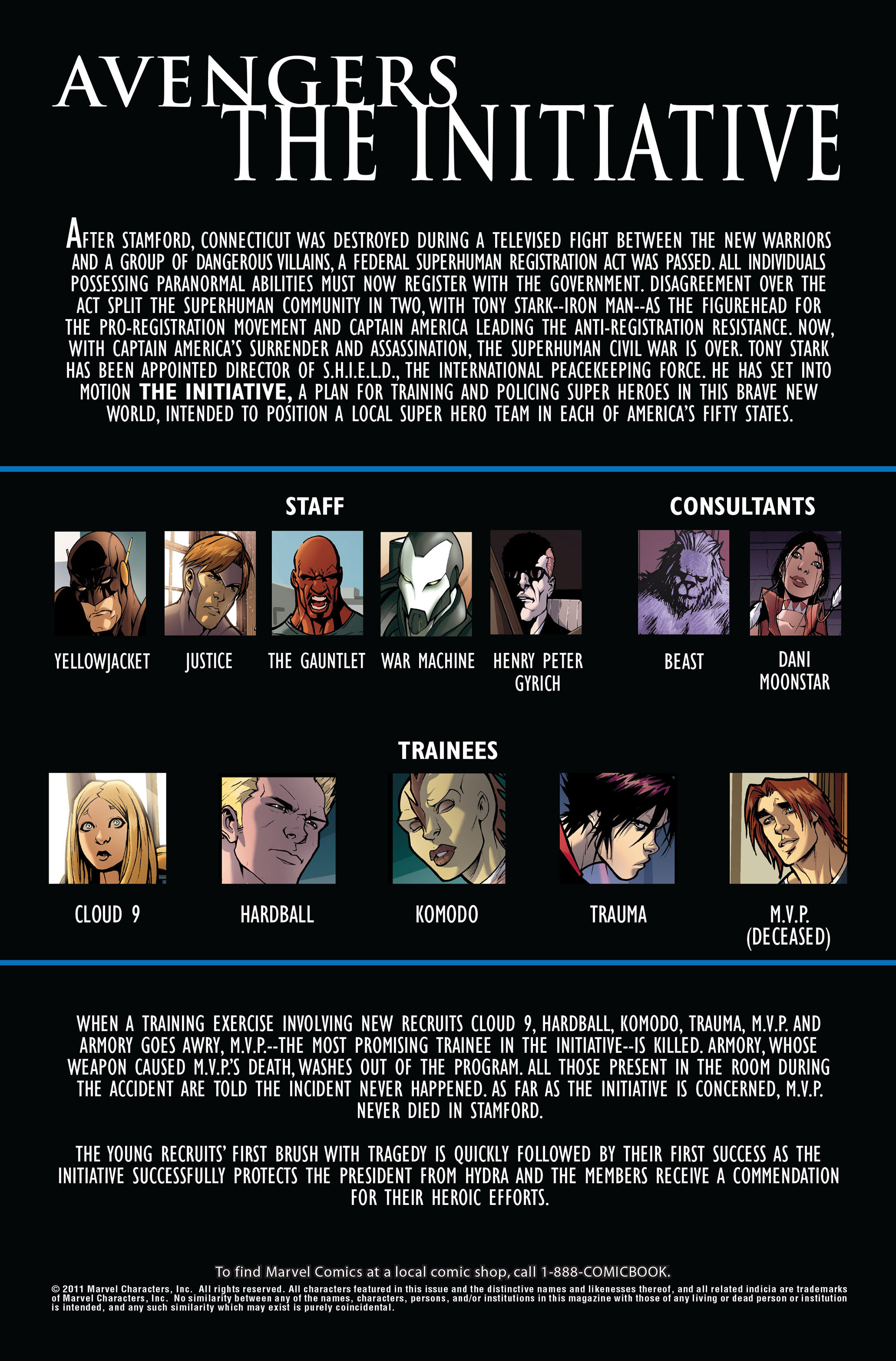 Avengers: The Initiative 3 Page 2