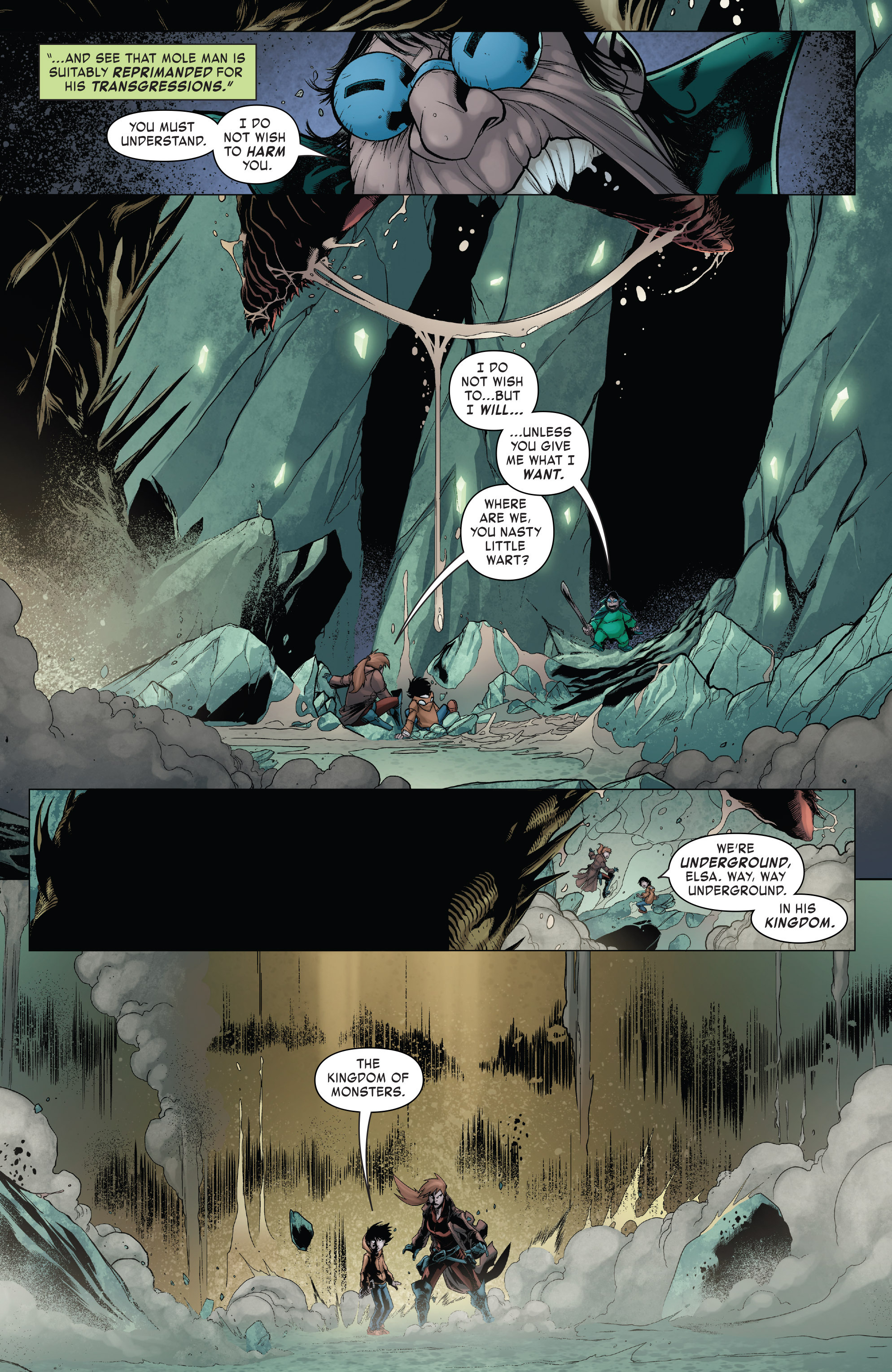 Read online Monsters Unleashed II comic -  Issue #2 - 11