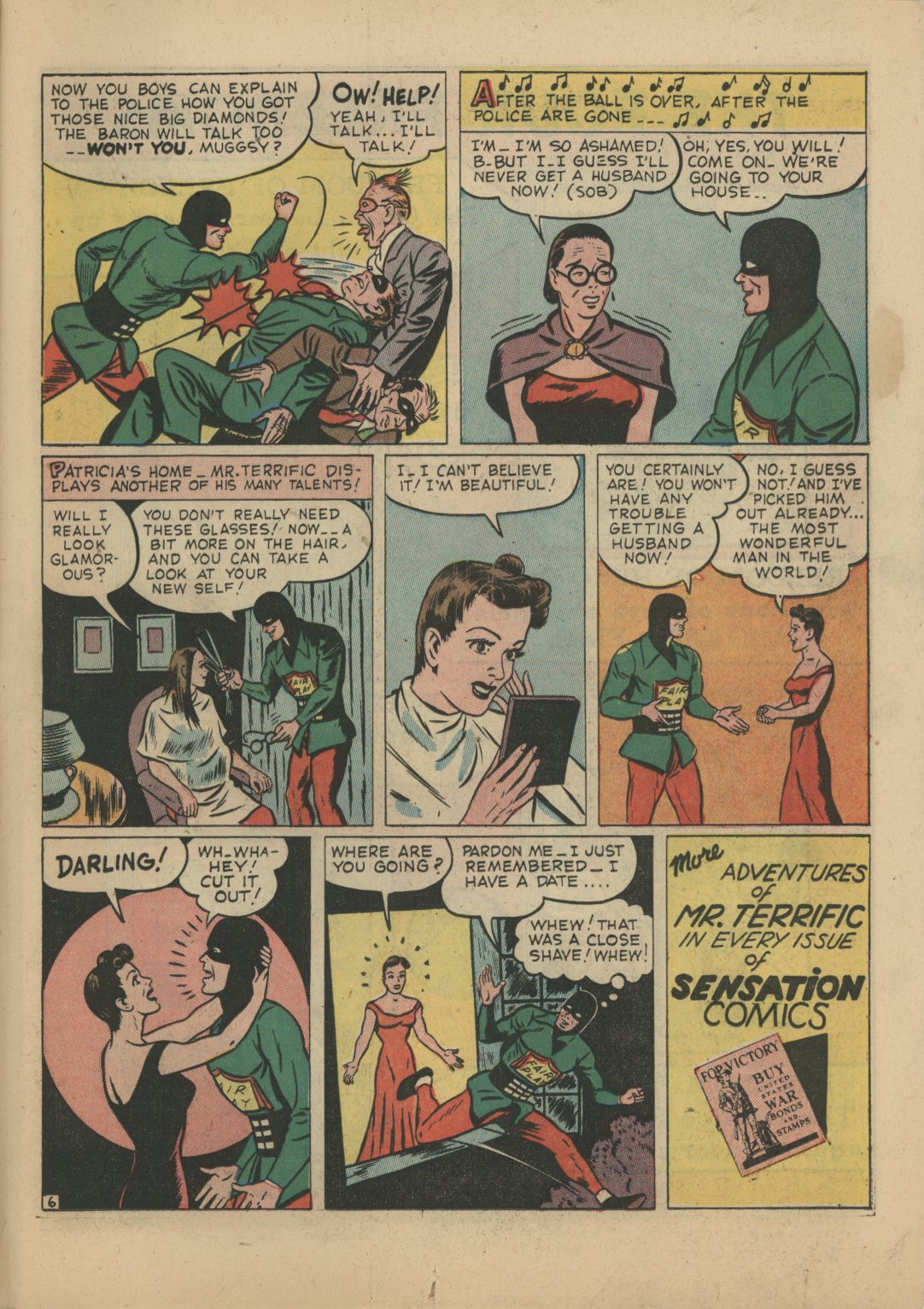 Read online Sensation (Mystery) Comics comic -  Issue #21 - 39