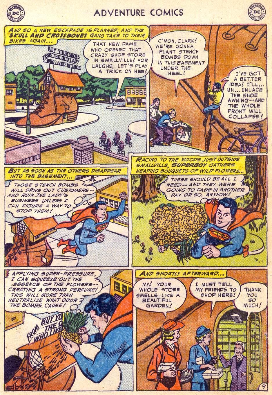 Read online Adventure Comics (1938) comic -  Issue #197 - 11