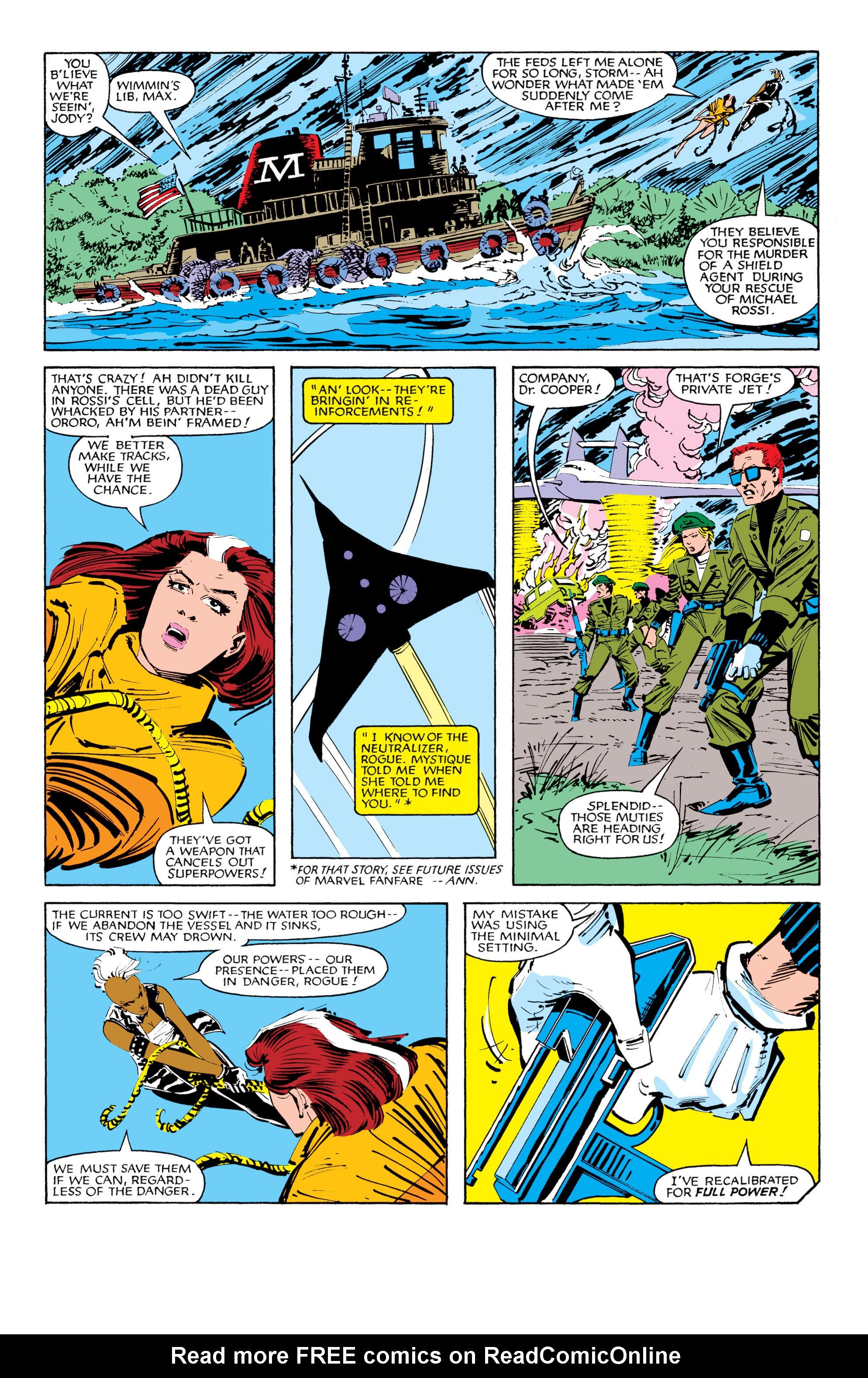 Read online Uncanny X-Men (1963) comic -  Issue #185 - 20