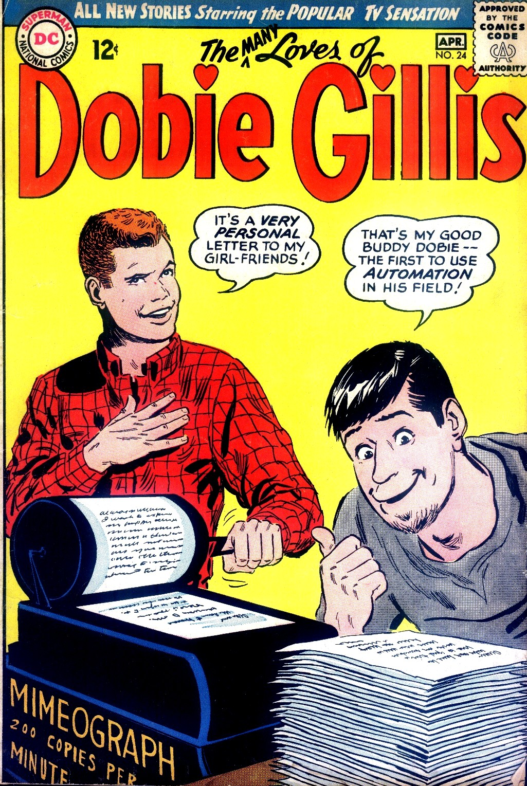 Many Loves of Dobie Gillis issue 24 - Page 1