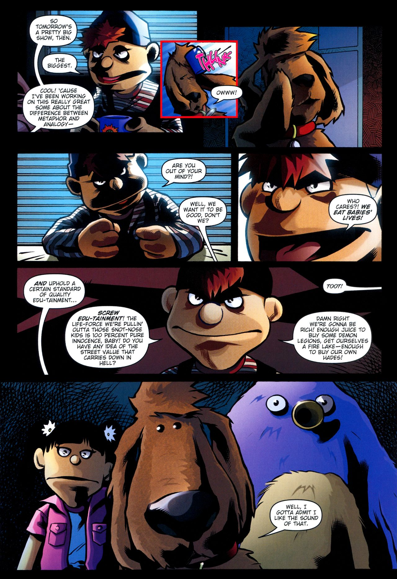 Read online Angel: Smile Time comic -  Issue #2 - 19