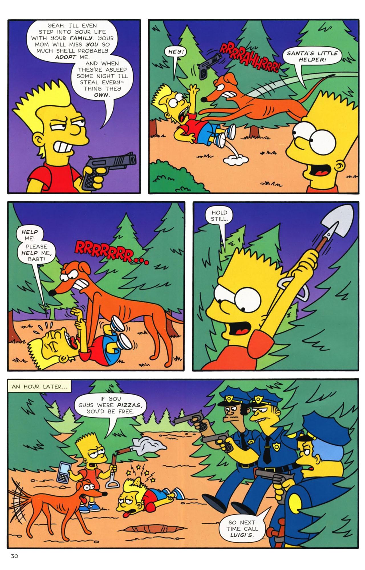Read online Simpsons Comics comic -  Issue #169 - 24
