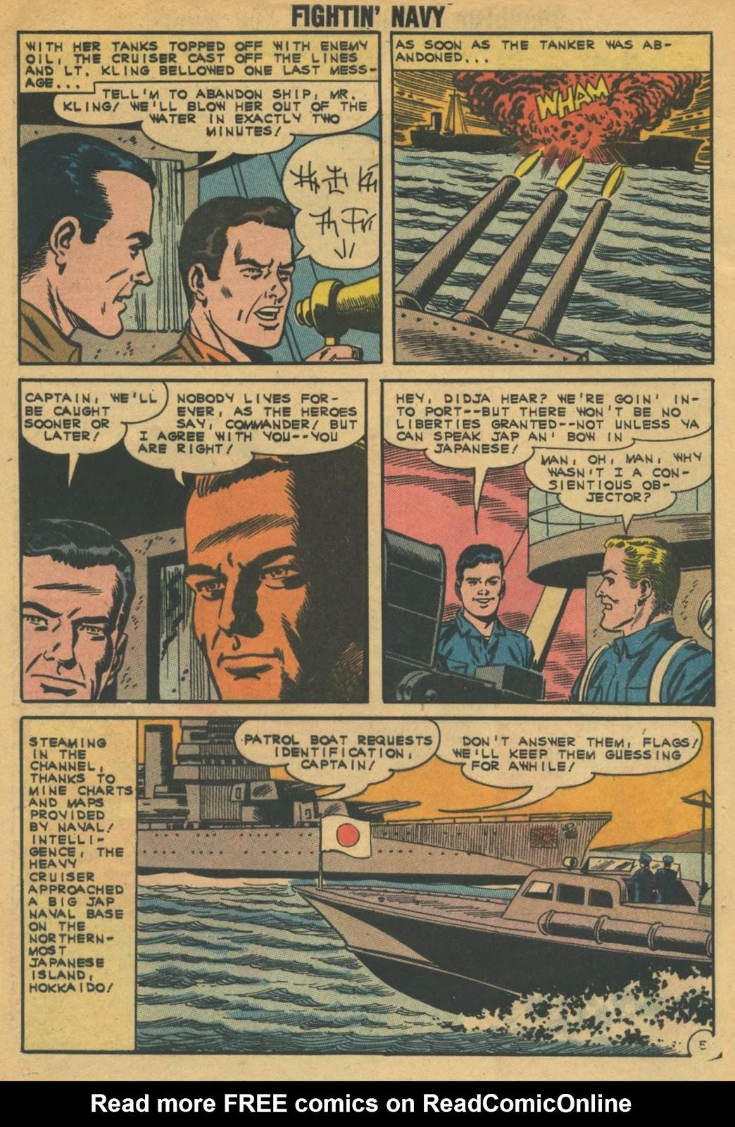 Read online Fightin' Navy comic -  Issue #103 - 8