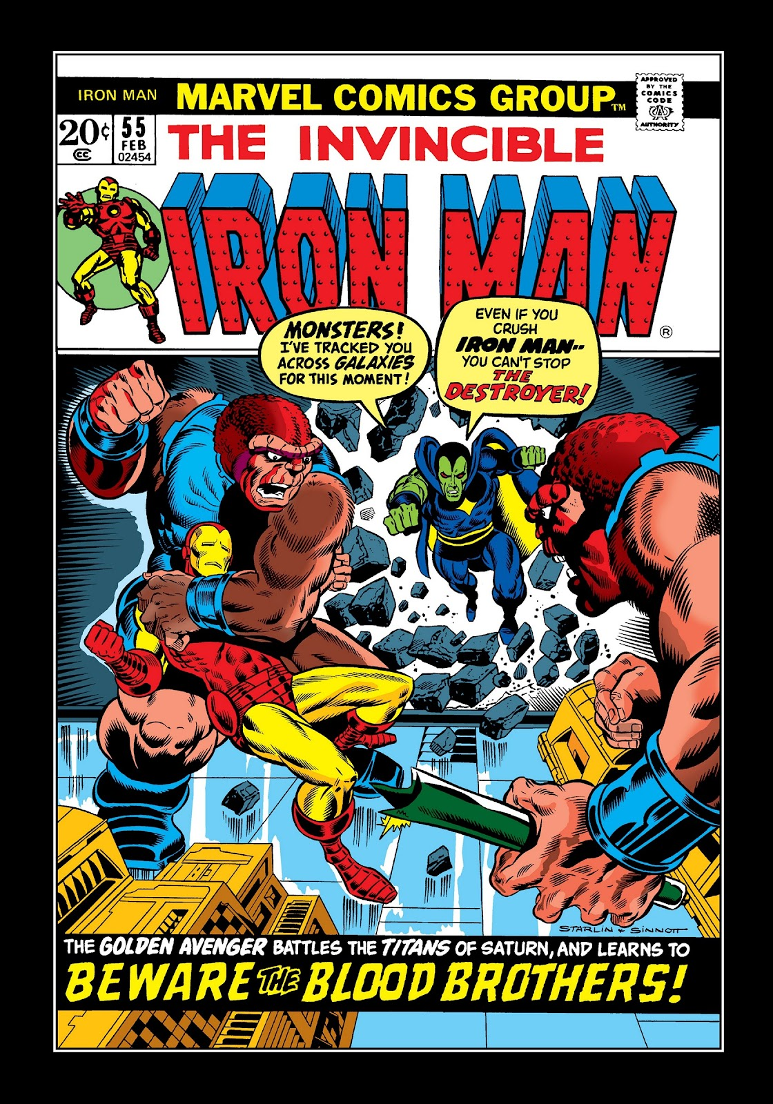 Read online Marvel Masterworks: The Invincible Iron Man comic -  Issue # TPB 9 (Part 1) - 28
