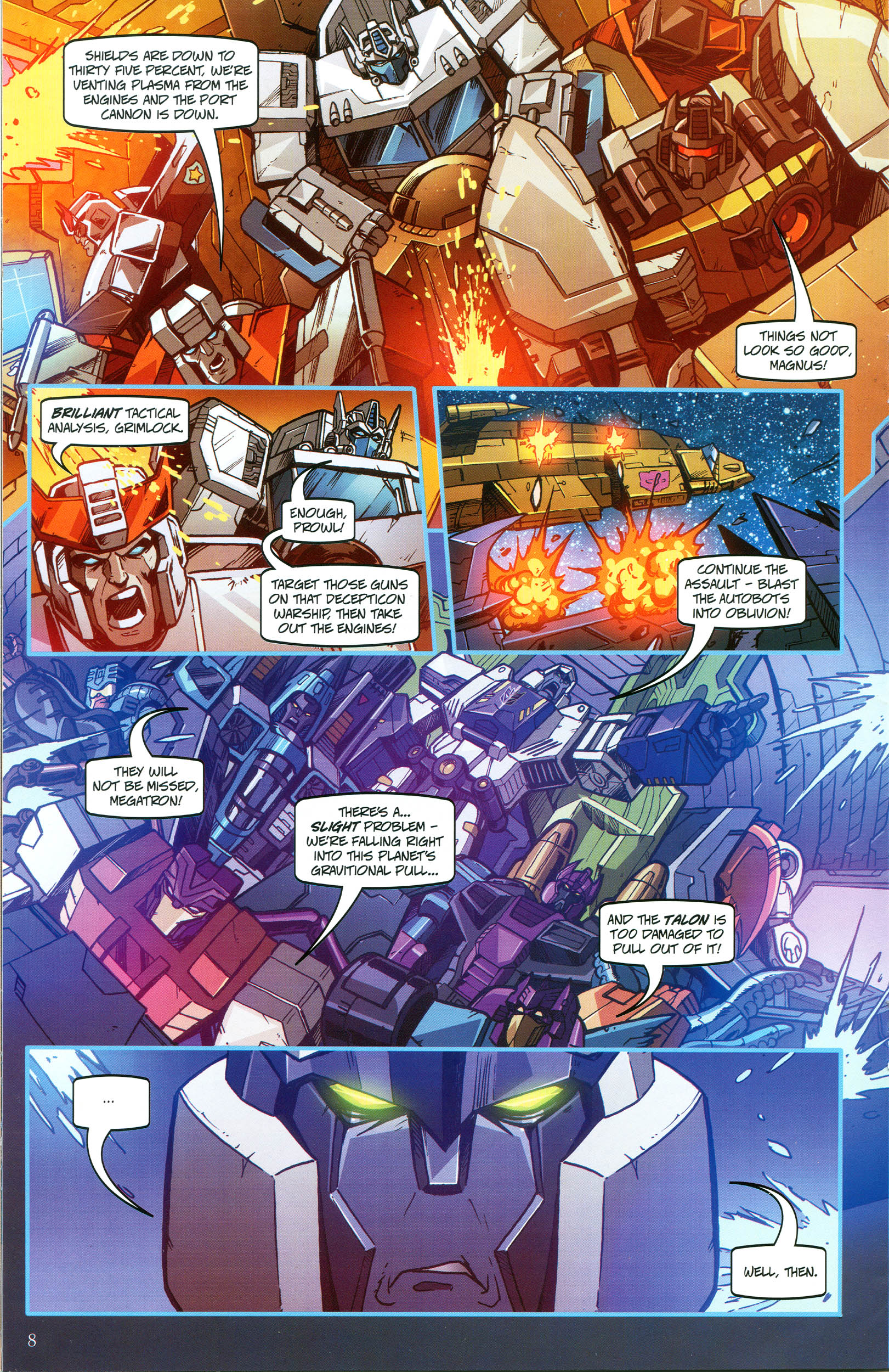 Read online Transformers: Collectors' Club comic -  Issue #49 - 8
