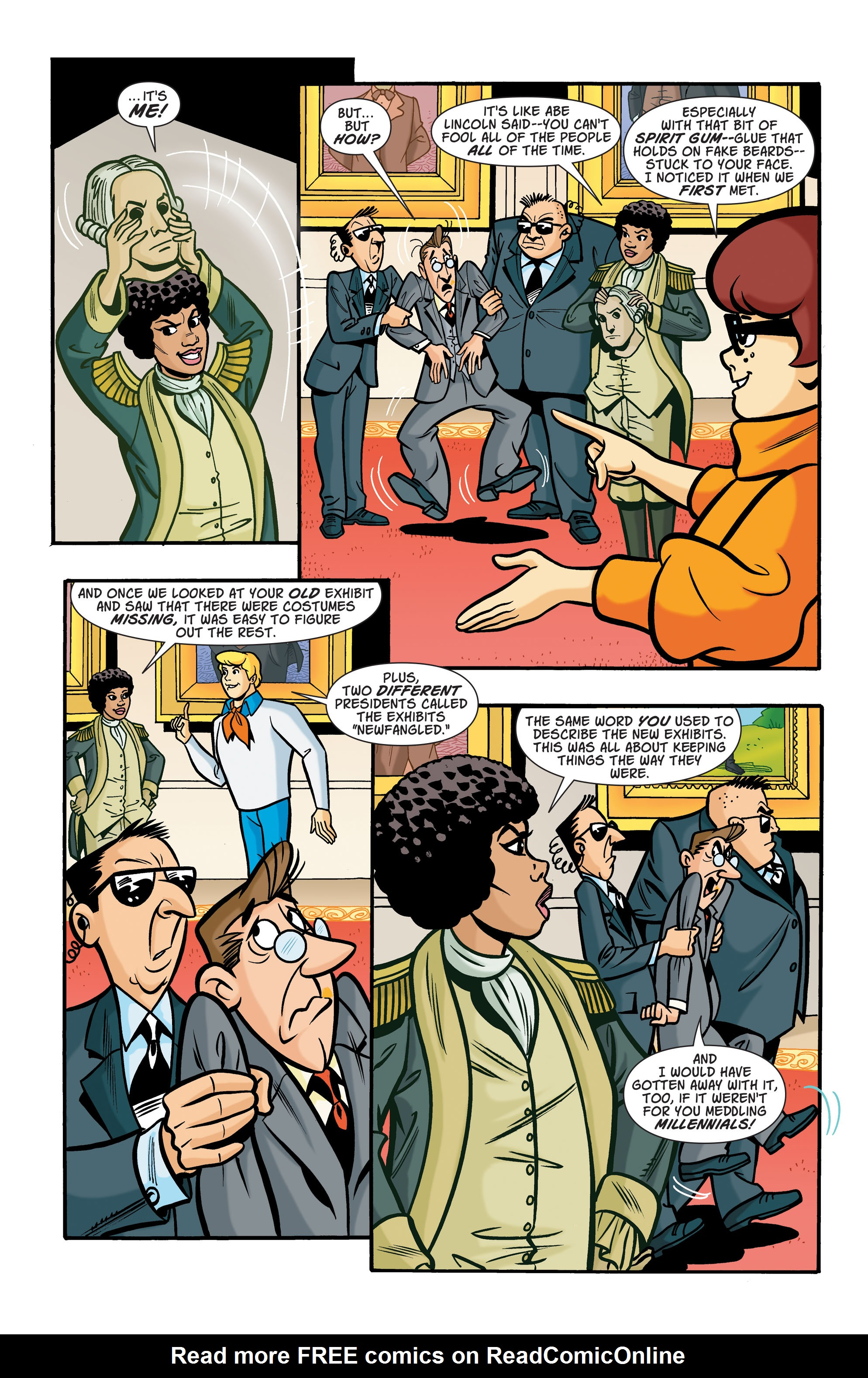 Read online Scooby-Doo: Where Are You? comic -  Issue #66 - 10