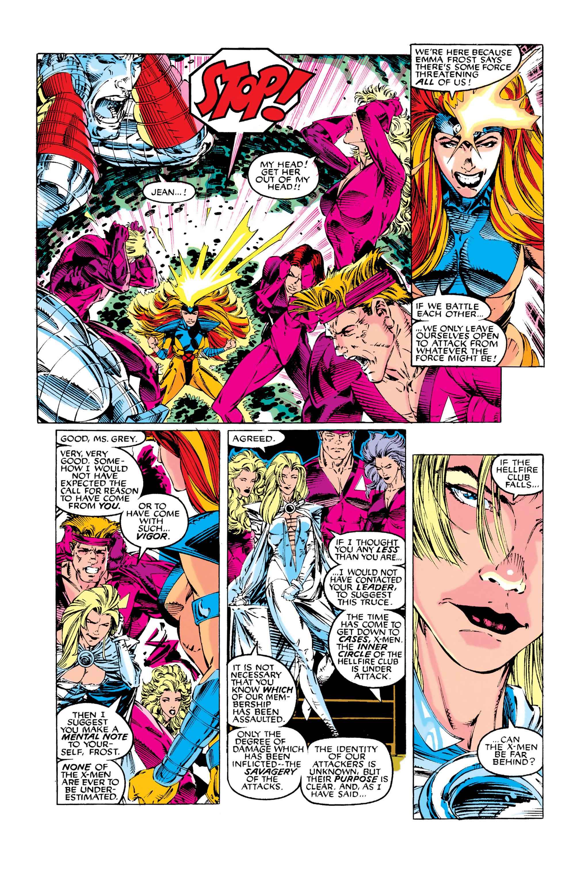 Read online Uncanny X-Men (1963) comic -  Issue #281 - 10