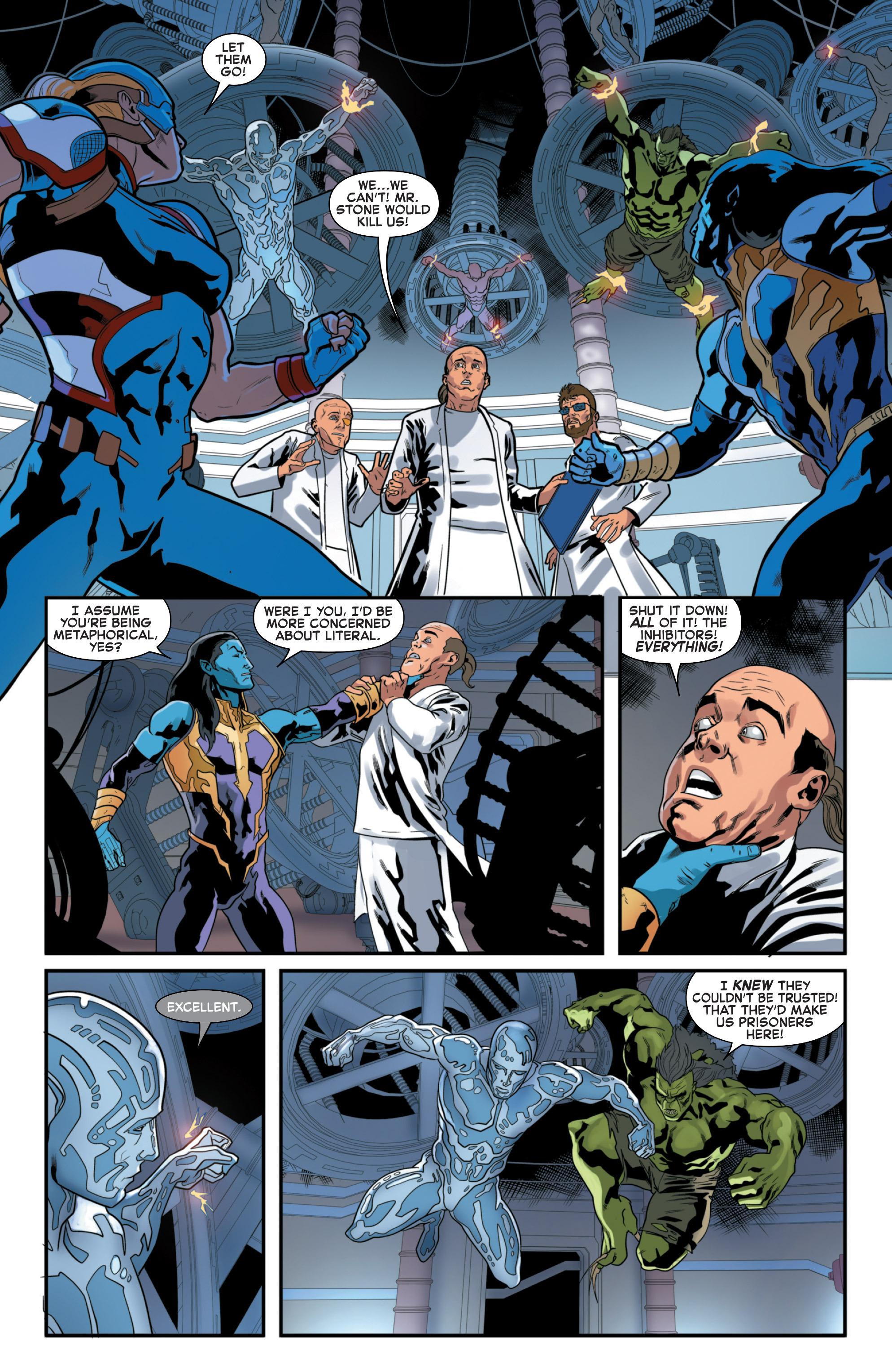 Read online Secret Wars 2099 comic -  Issue #4 - 15