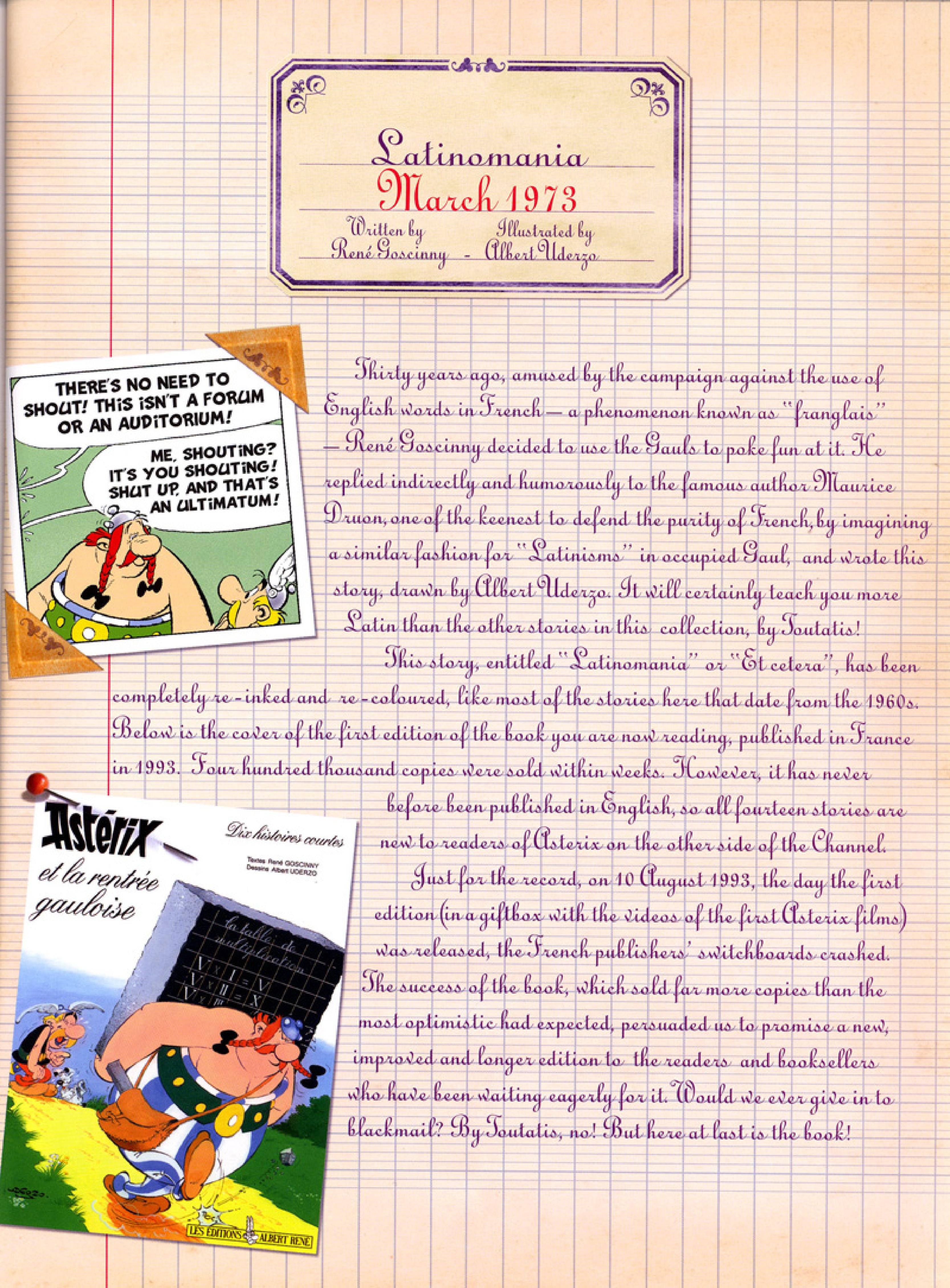Read online Asterix comic -  Issue #32 - 48