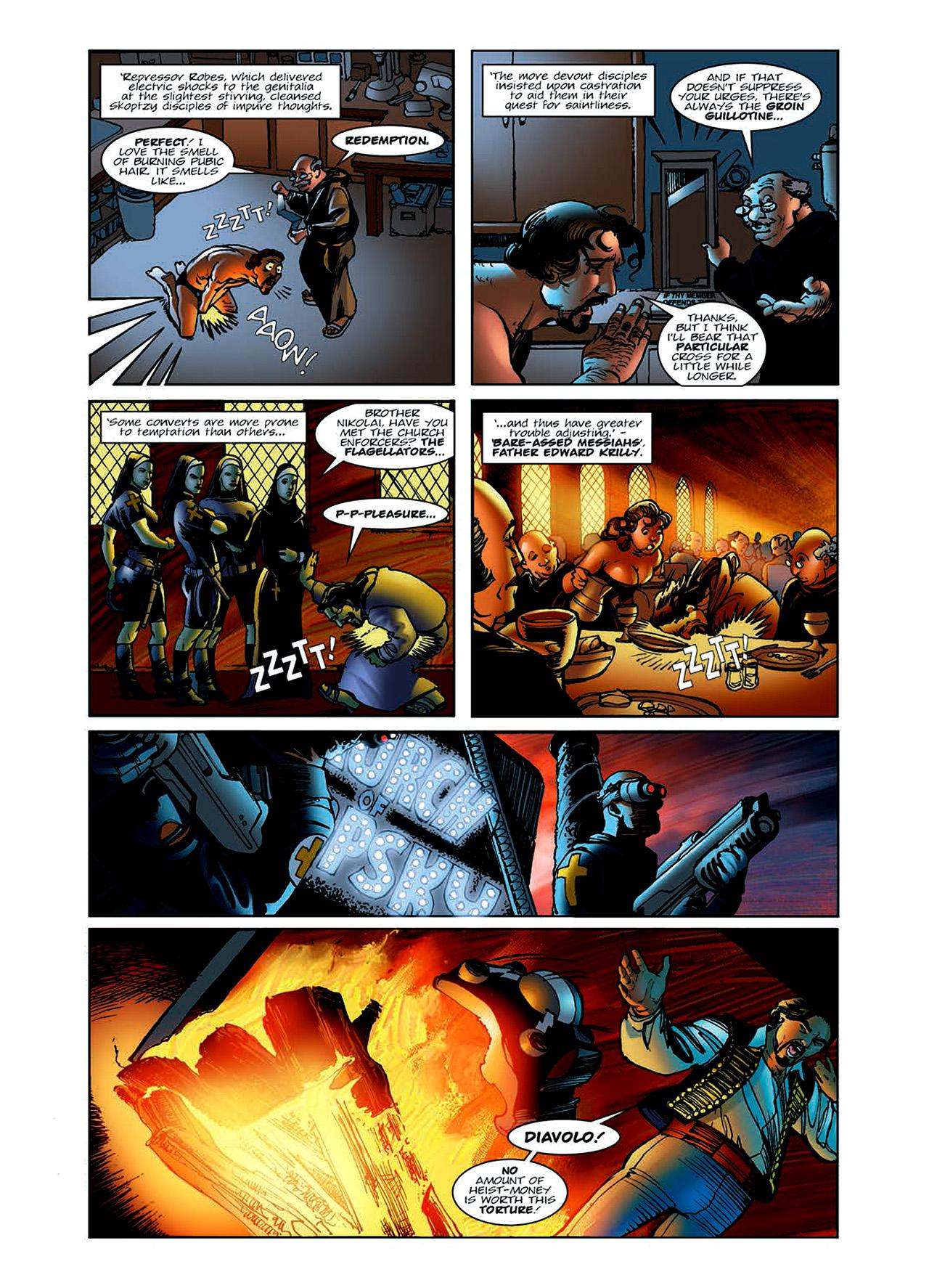 Read online Nikolai Dante comic -  Issue # TPB 6 - 22