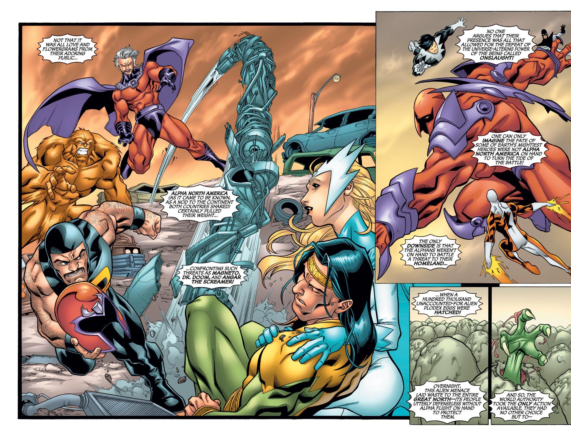 Read online Alpha Flight (2004) comic -  Issue #11 - 5