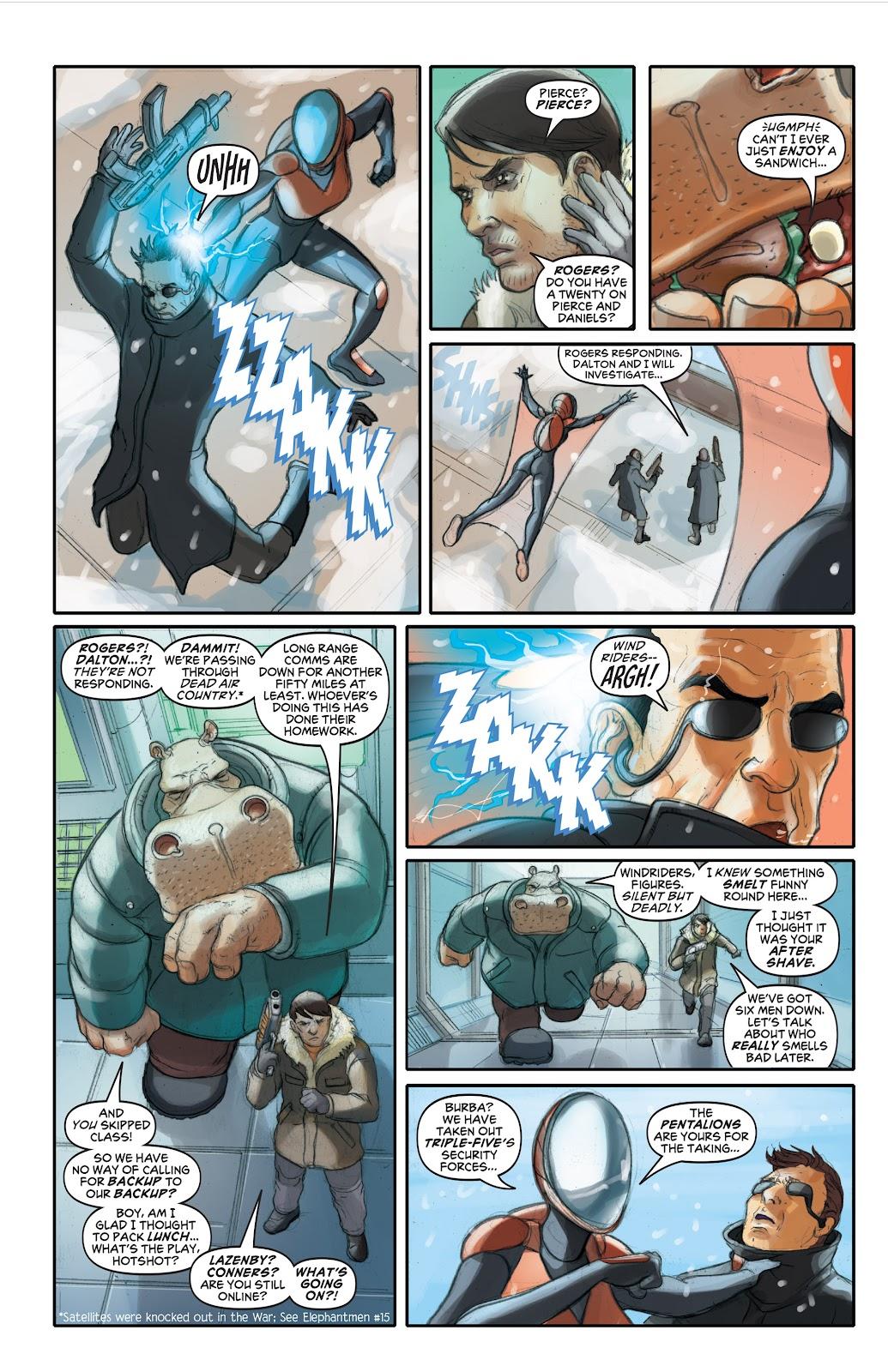 Read online Elephantmen 2261 Season Two: The Pentalion Job comic -  Issue # TPB - 37