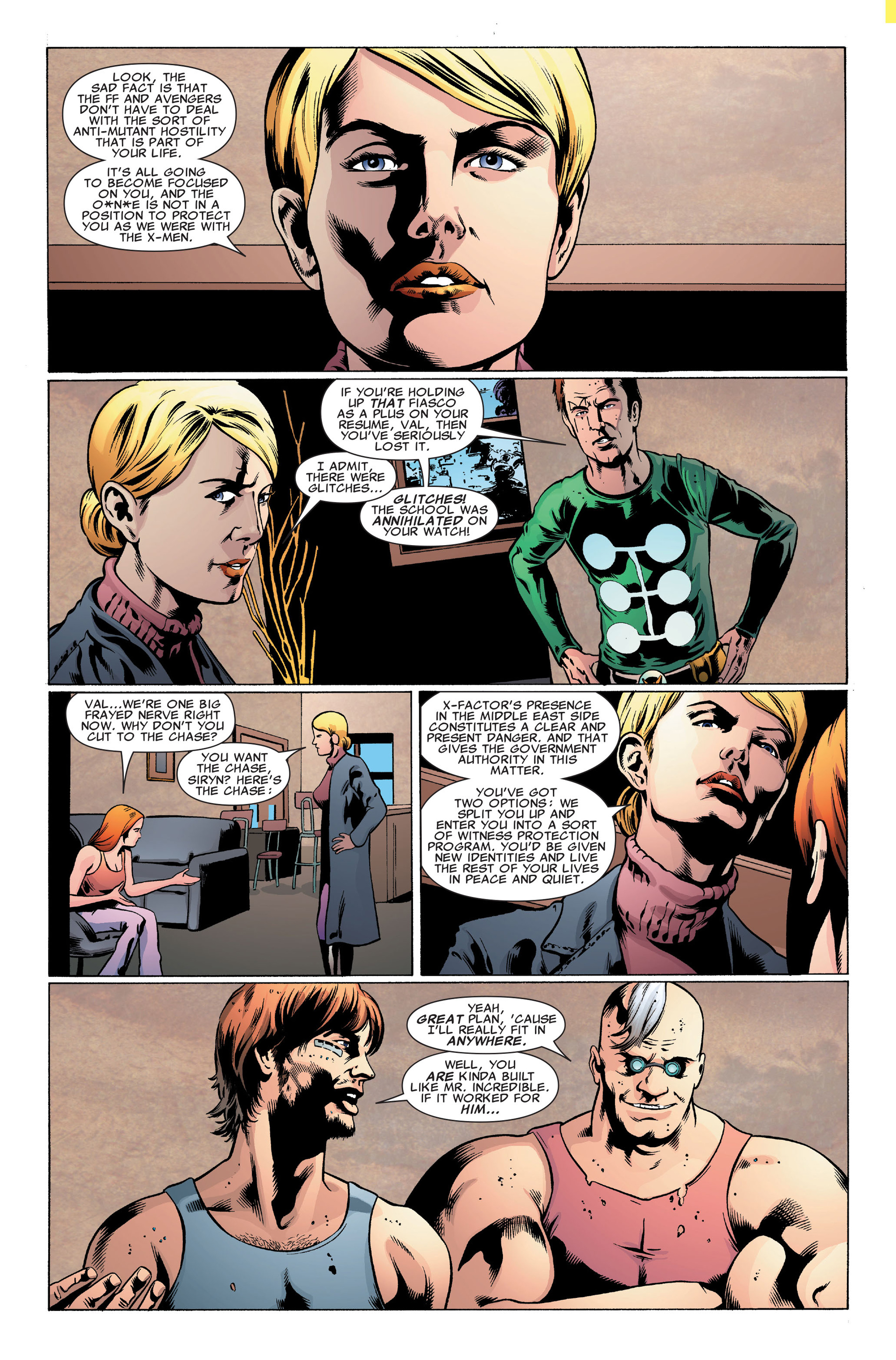 Read online X-Factor (2006) comic -  Issue #32 - 13