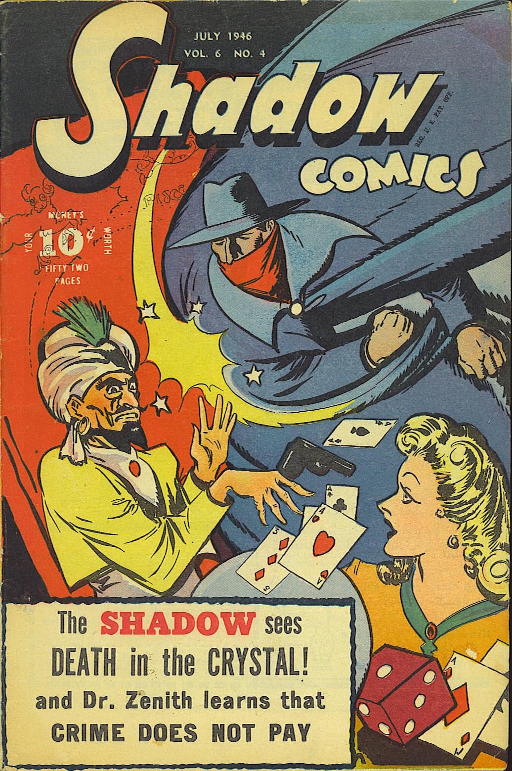 Shadow Comics 64 Page 1