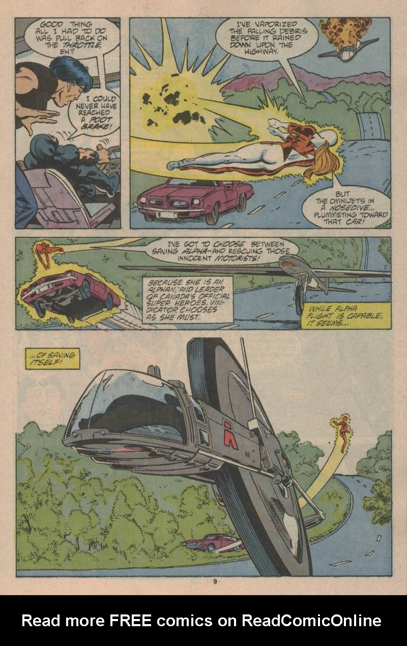 Read online Alpha Flight (1983) comic -  Issue #43 - 10