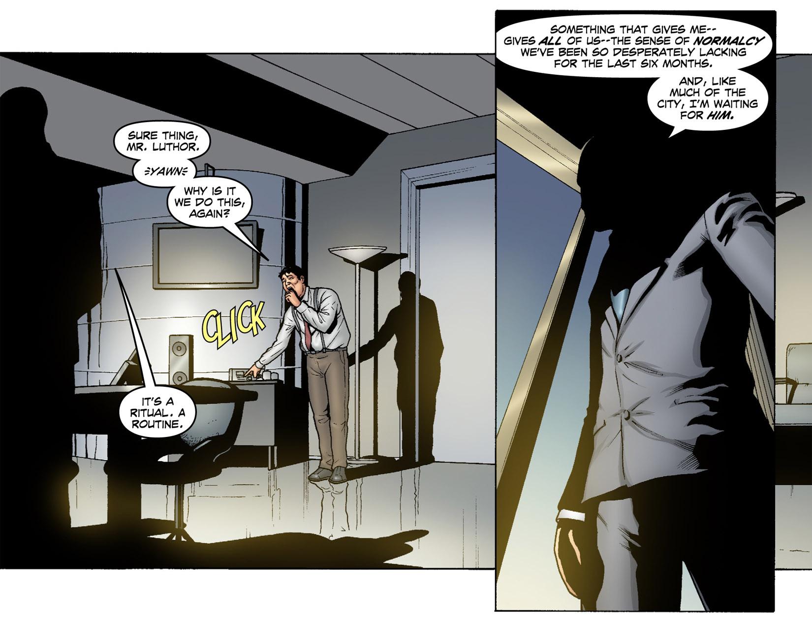 Read online Smallville: Season 11 comic -  Issue #1 - 7