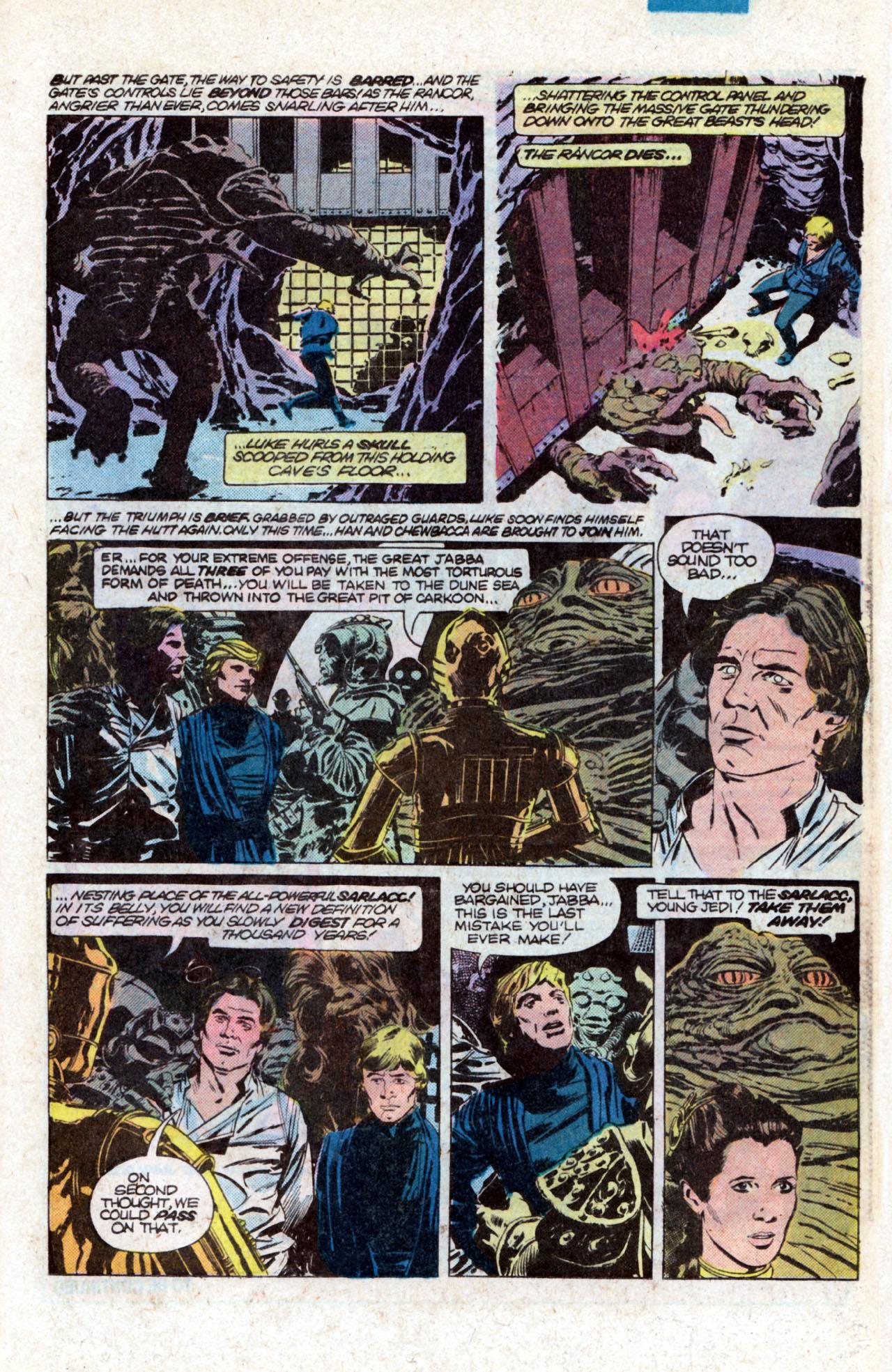 Read online Star Wars: Return of the Jedi comic -  Issue #1 - 24