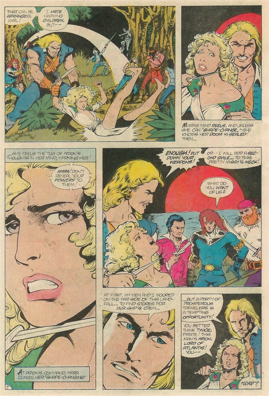 Read online Arion, Lord of Atlantis comic -  Issue #20 - 8