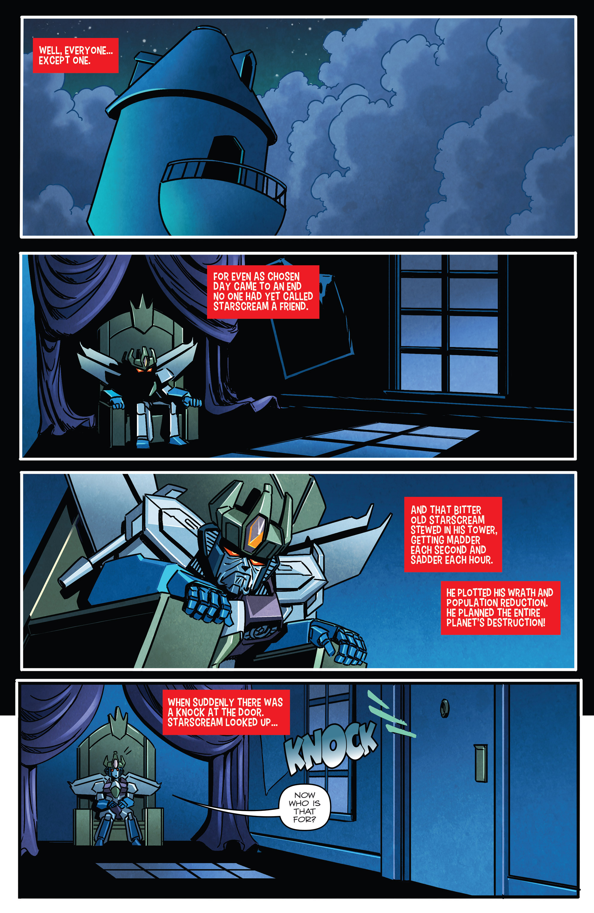 Read online Transformers: Holiday Special comic -  Issue # Full - 10