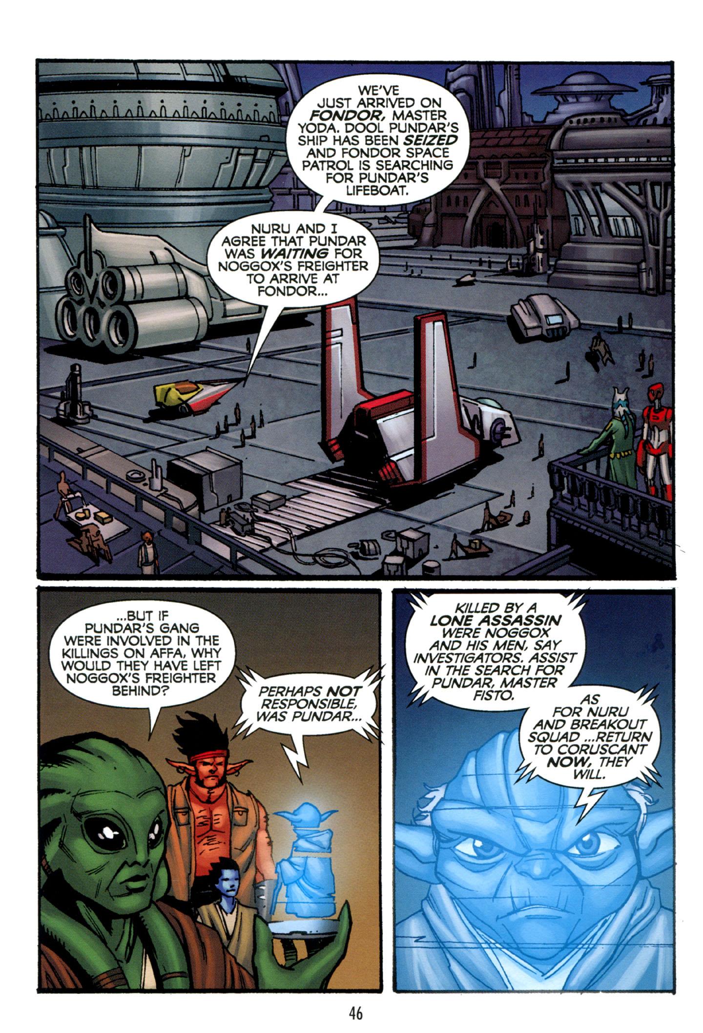 Read online Star Wars: The Clone Wars - Strange Allies comic -  Issue # Full - 47