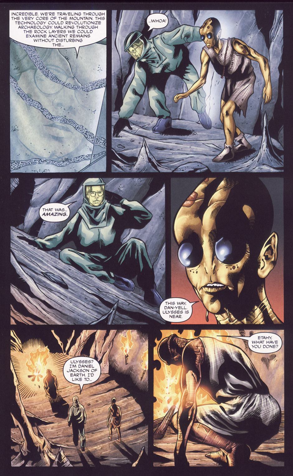 Read online Stargate SG-1: Fall of Rome comic -  Issue #2 - 19