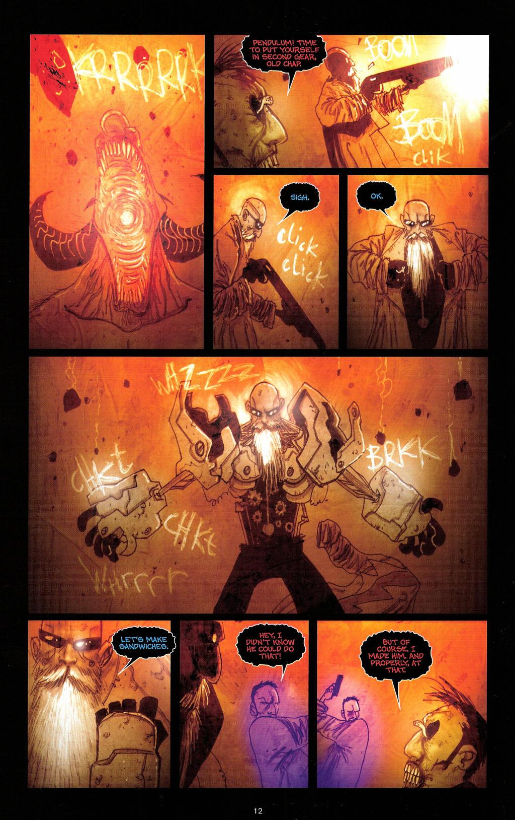 Read online Wormwood: Gentleman Corpse comic -  Issue #4 - 15