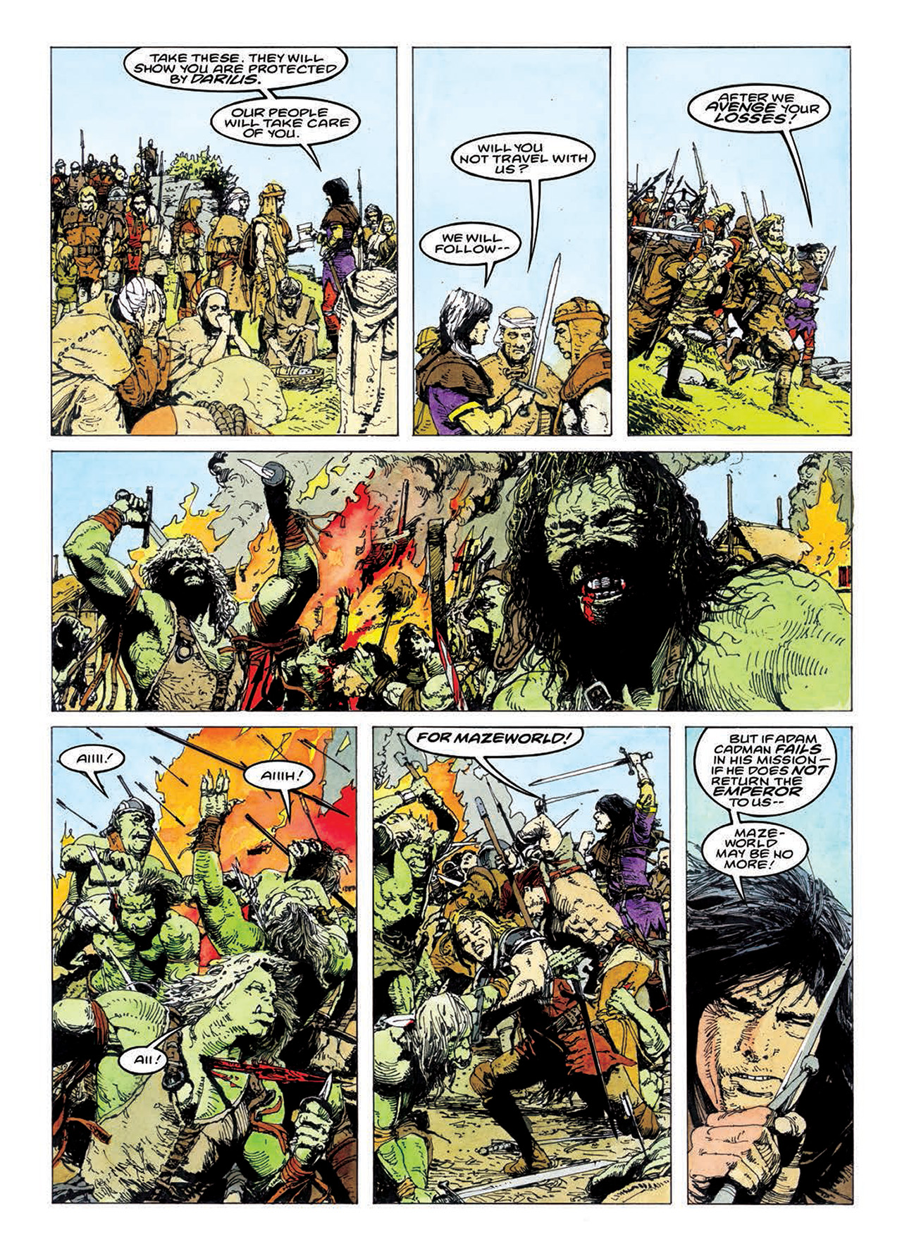 Read online Mazeworld comic -  Issue # TPB - 155